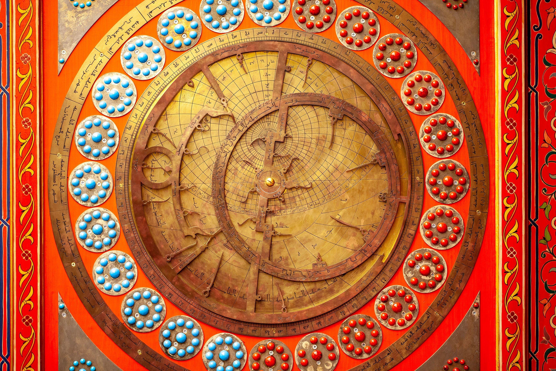 An ancient Turkish astronomical calendar for determining constellations. (Shutterstock Photo)