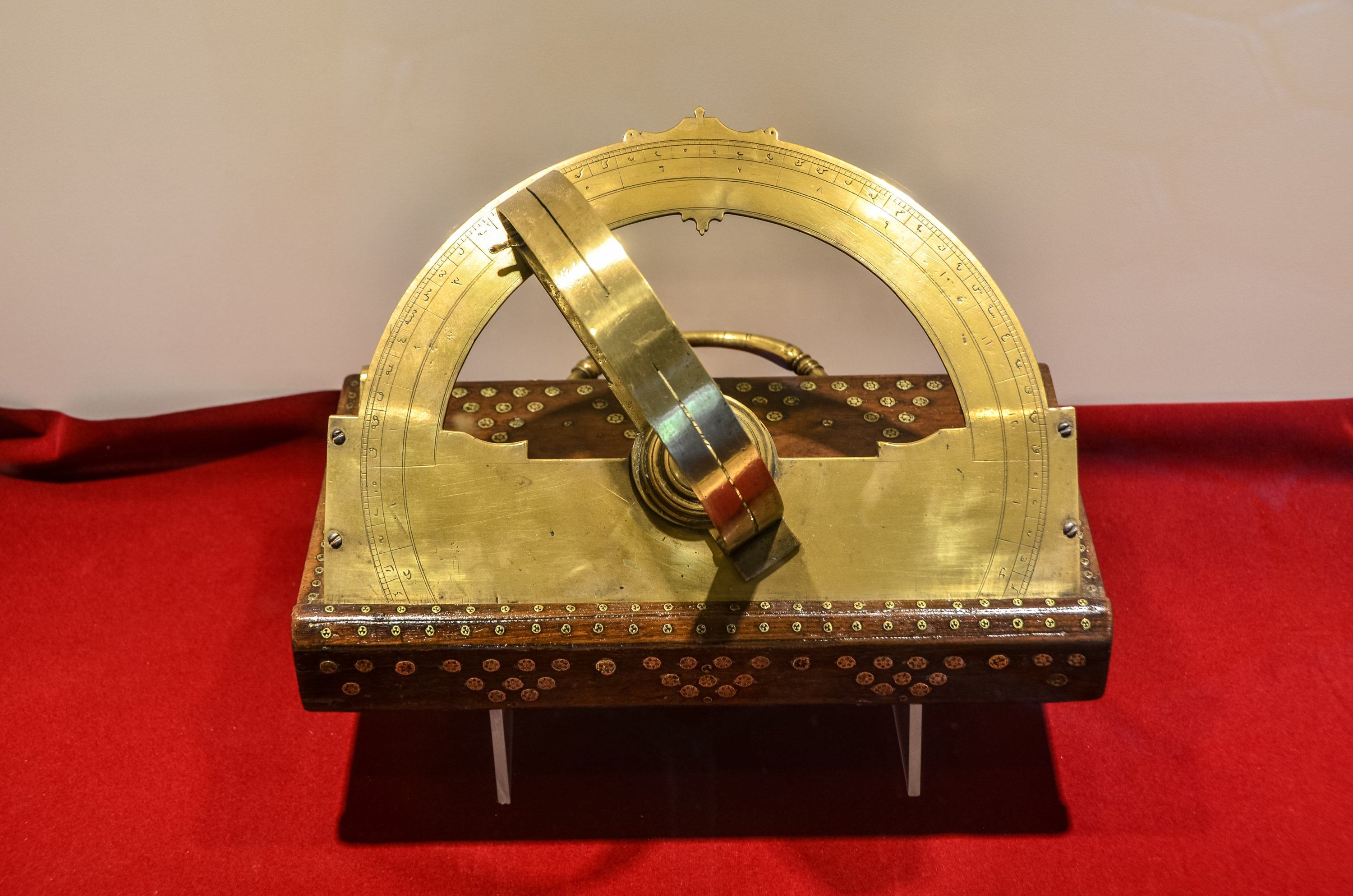 An old astrolabe from Ottoman Empire. (Shutterstock Photo)