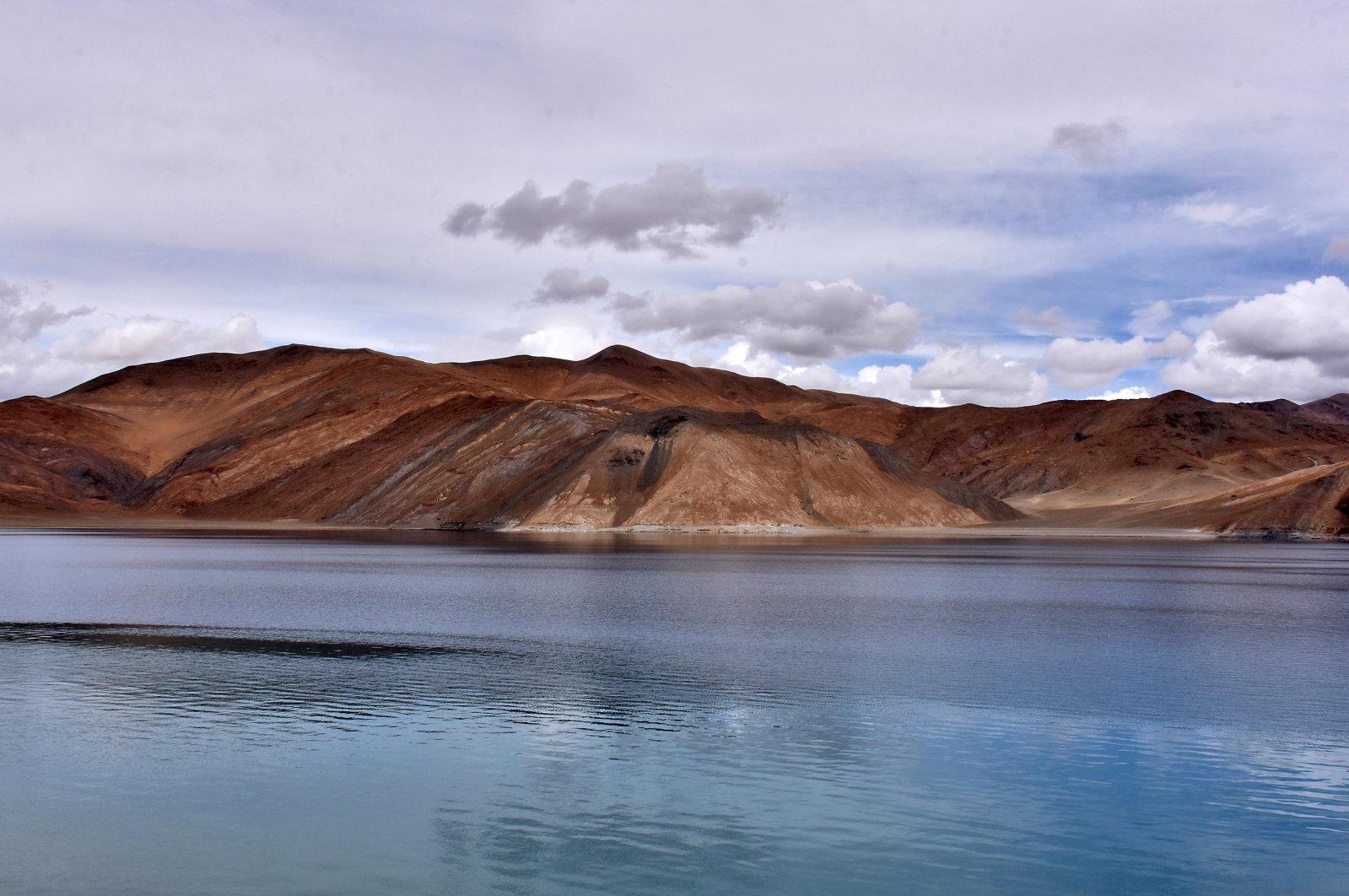 A view of Pangong Tso lake in Ladakh region July 27, 2019. (Reuters Photo)