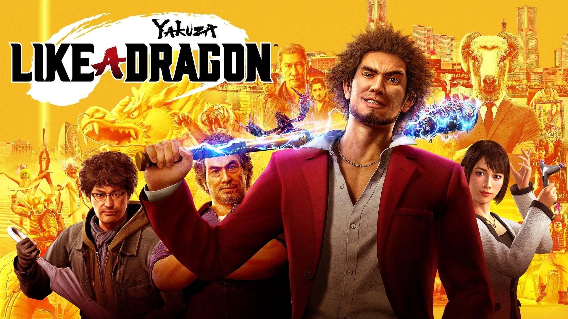 Promo poster of Yakuza: Like a Dragon. (Image credit: SEGA)