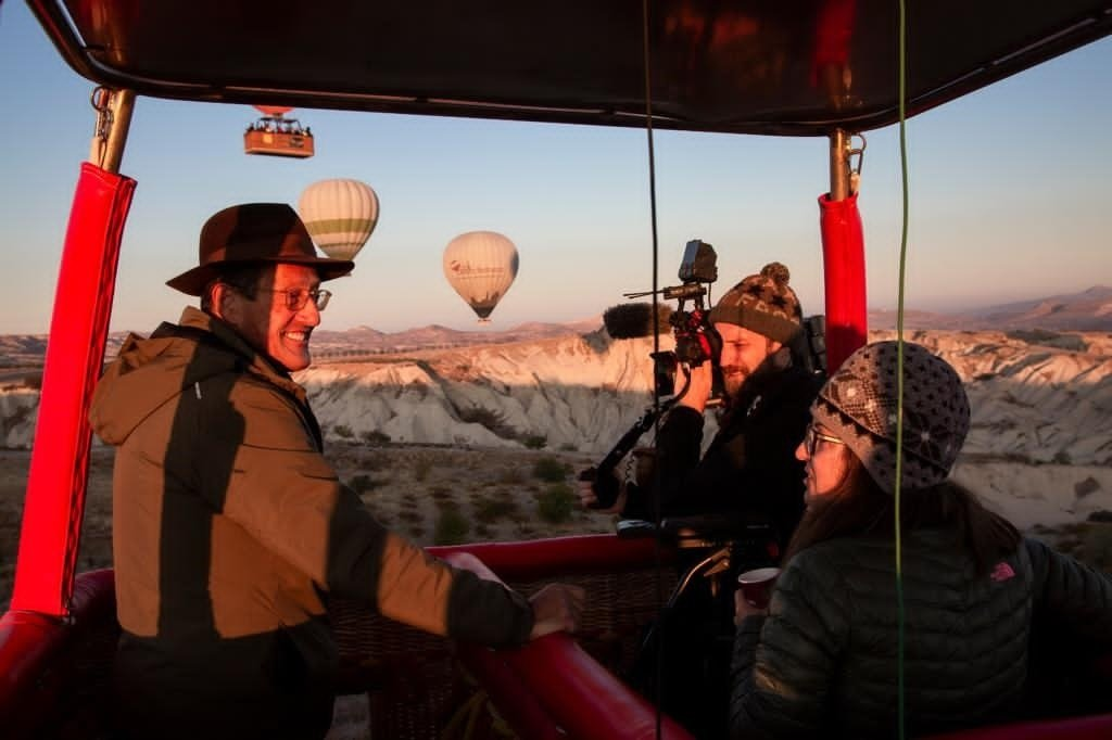 In the show, Richard Quest explores the unique elements and stories that makes Cappadocia special. (Courtesy of Warner Media)