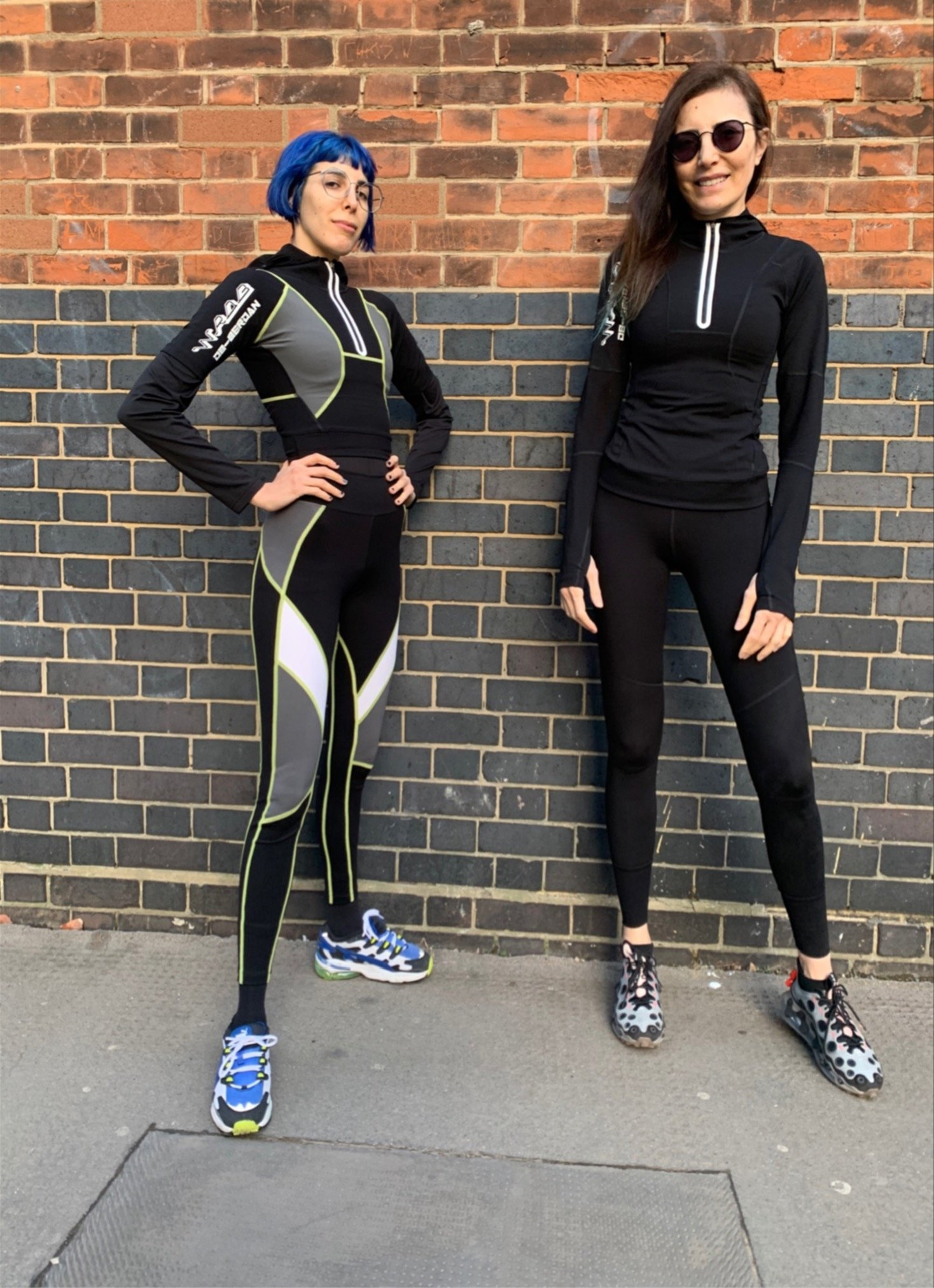 Designers Begüm Berdan (L) and her mother Deniz Berdan in London. (Photo courtesy of the Berdans)