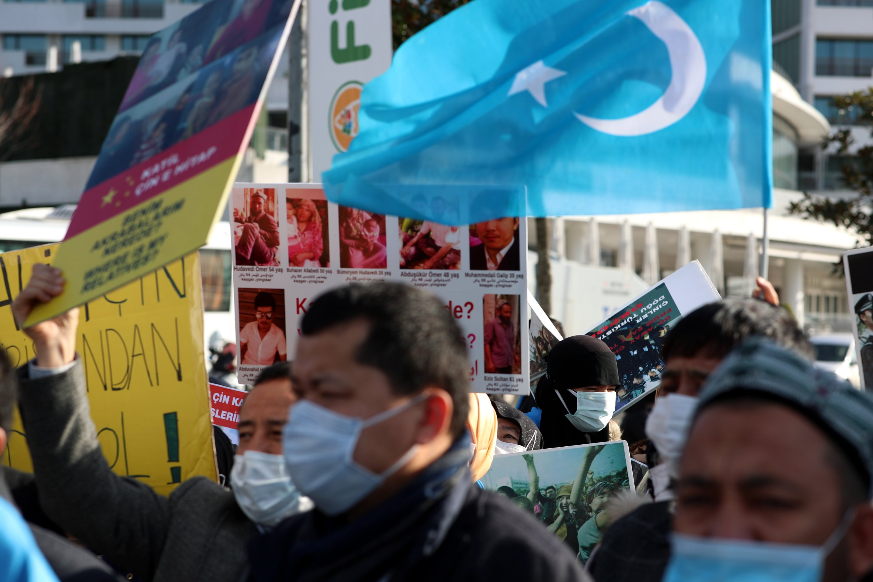 Act against China's Uyghur genocide, Holocaust survivors tell UK