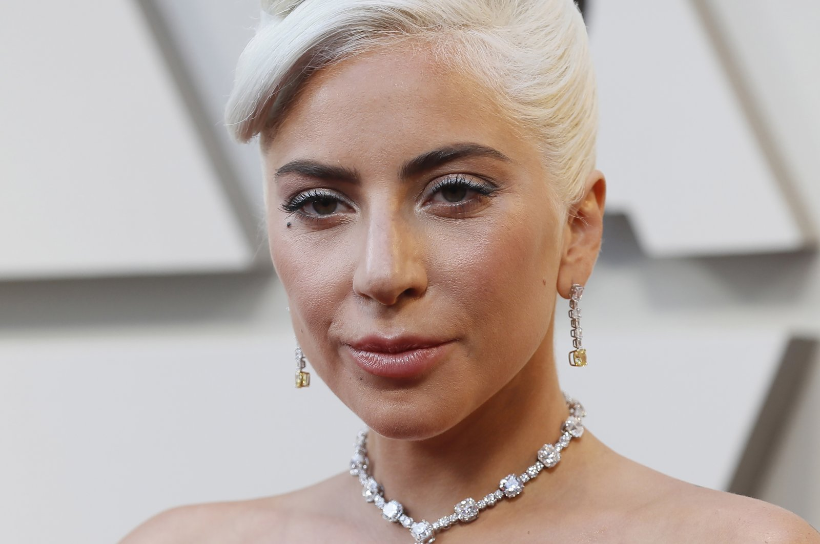Lady Gaga arrives for the 91st annual Academy Awards ceremony at the Dolby Theatre in Hollywood, California, U.S., Feb. 24, 2019. (EPA File Photo)