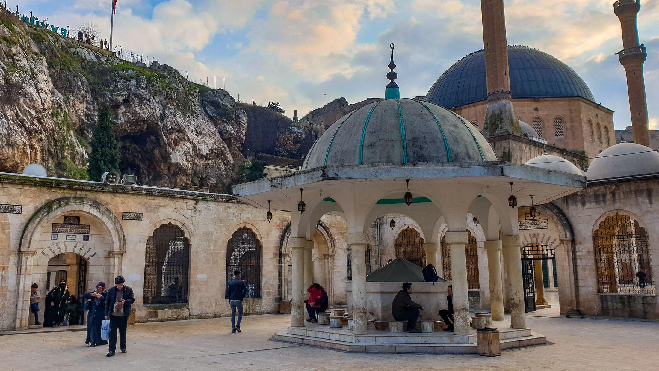 Masjid Dergah.  (Foto oleh Argun Konuk)
