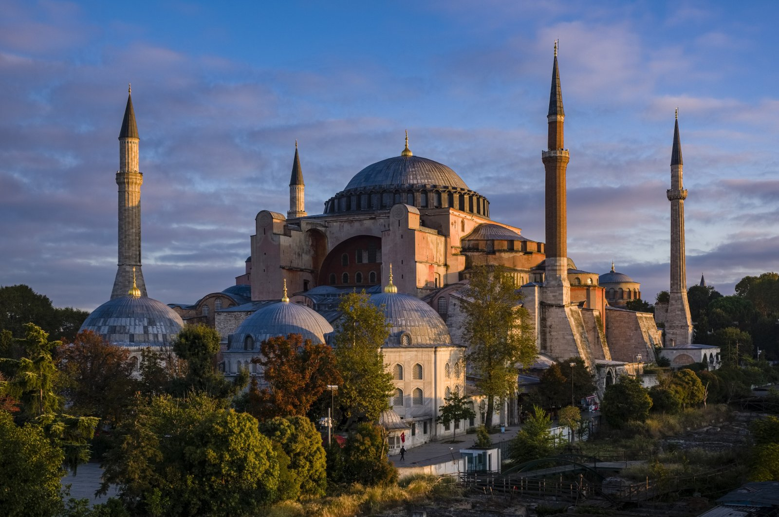 Hagia Sophia, or the Hagia Sophia Grand Mosque, can be seen in Istanbul, Turkey, Oct. 14, 2019. (Getty Images)