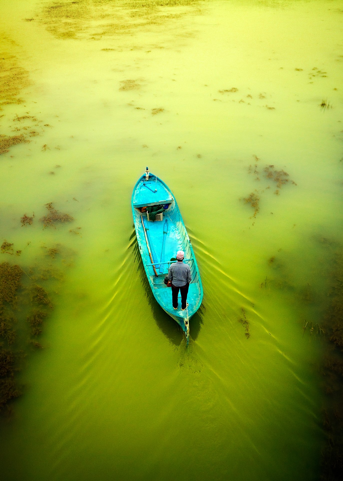 "Serdar Güzel, ""Water-Scenes from Turkey,"" photography, 50 by 70 centimeters. (Courtesy of Yunus Emre Institution)"