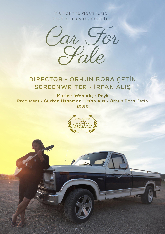 """A poster for the short film """"Satılık Araba"""" ('Car For Sale') directed by Orhun Bora Çetin."""