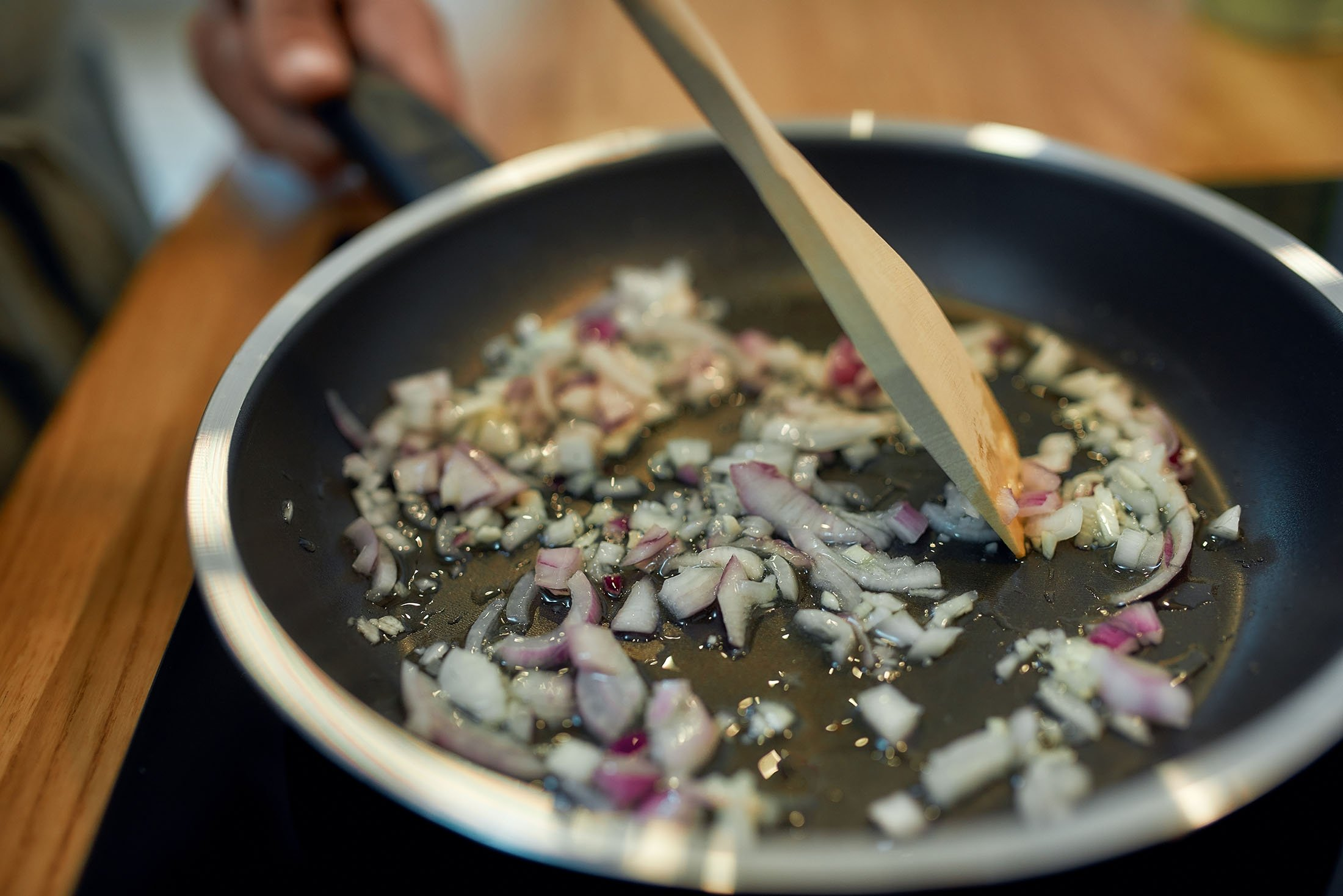 Turks have many interesting terms about sauteeing onions. (Shutterstock Photo)