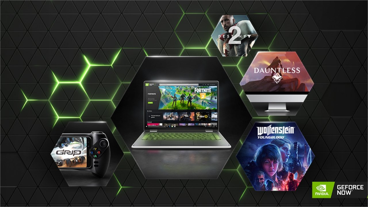 GeForce NOW transforms nearly any laptop, smartphone or tablet into a gaming rig. (Photo courtesy of Nvidia)