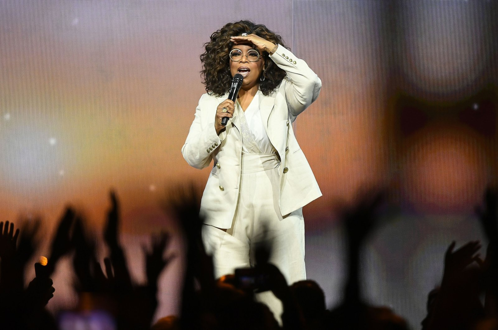 Oprah Winfrey speaks during Oprah's 2020 Vision: Your Life in Focus Tour presented by WW (Weight Watchers Reimagined) at Chase Center on February 22, 2020 in San Francisco, California.  (Getty Images)
