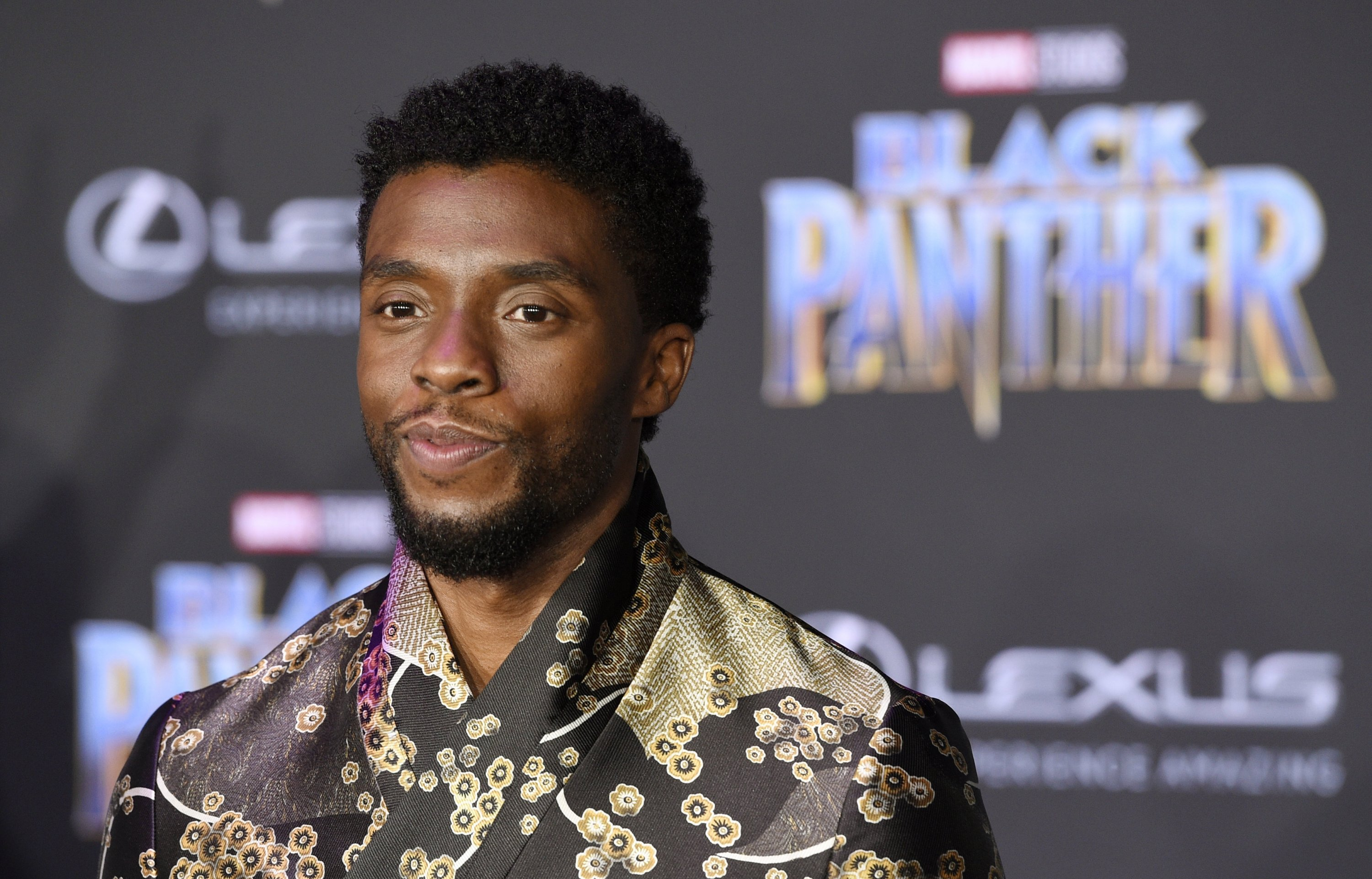 'Black Panther' star Chadwick Boseman died of colon cancer on Aug. 28, 2020 in Los Angeles. (Photo by Chris Pizzello/Invision/AP)