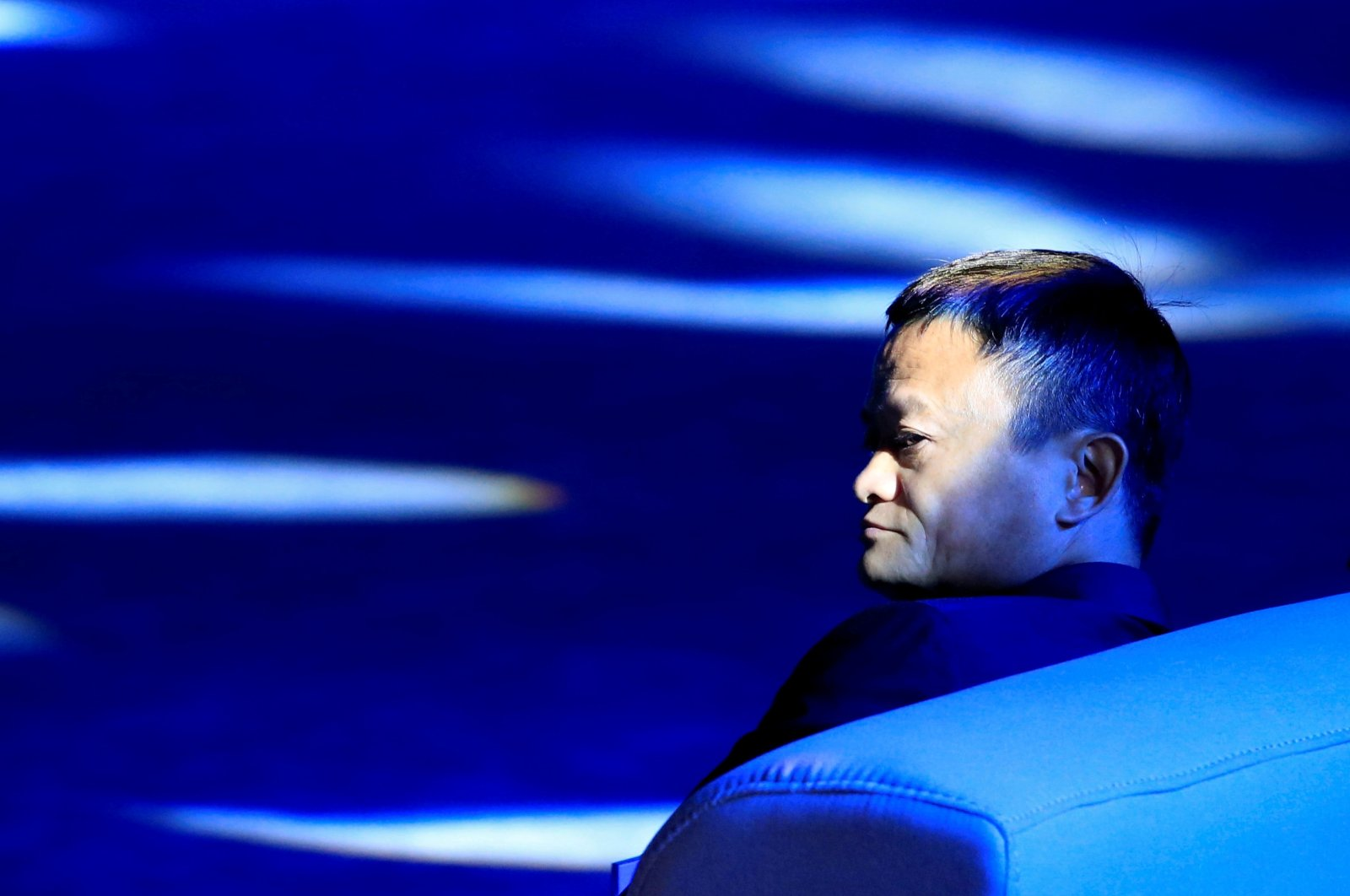 Alibaba Group Co-founder and Executive Chairman Jack Ma attends the World Artificial Intelligence Conference (WAIC) in Shanghai, China, Sept. 17, 2018. (Reuters Photo)
