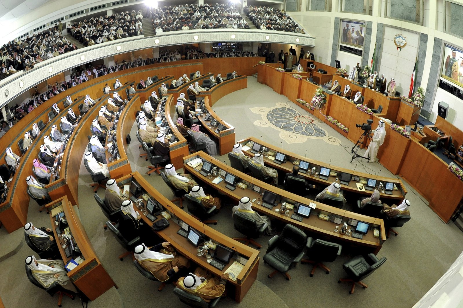 A General view of Kuwait's National Assembly, Kuwait, Dec. 16, 2012. (AP Photo)