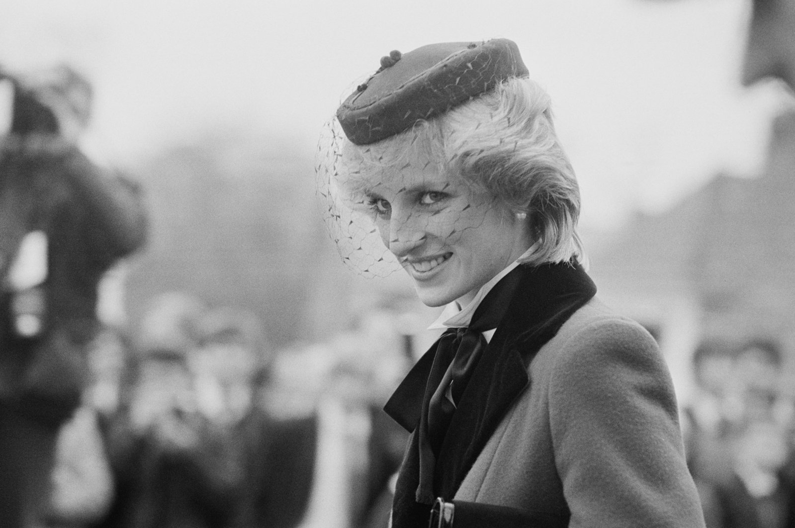 Lady Diana Spencer visits Colston's School in Bristol, U.K., Nov. 19, 1983. (Getty Images)