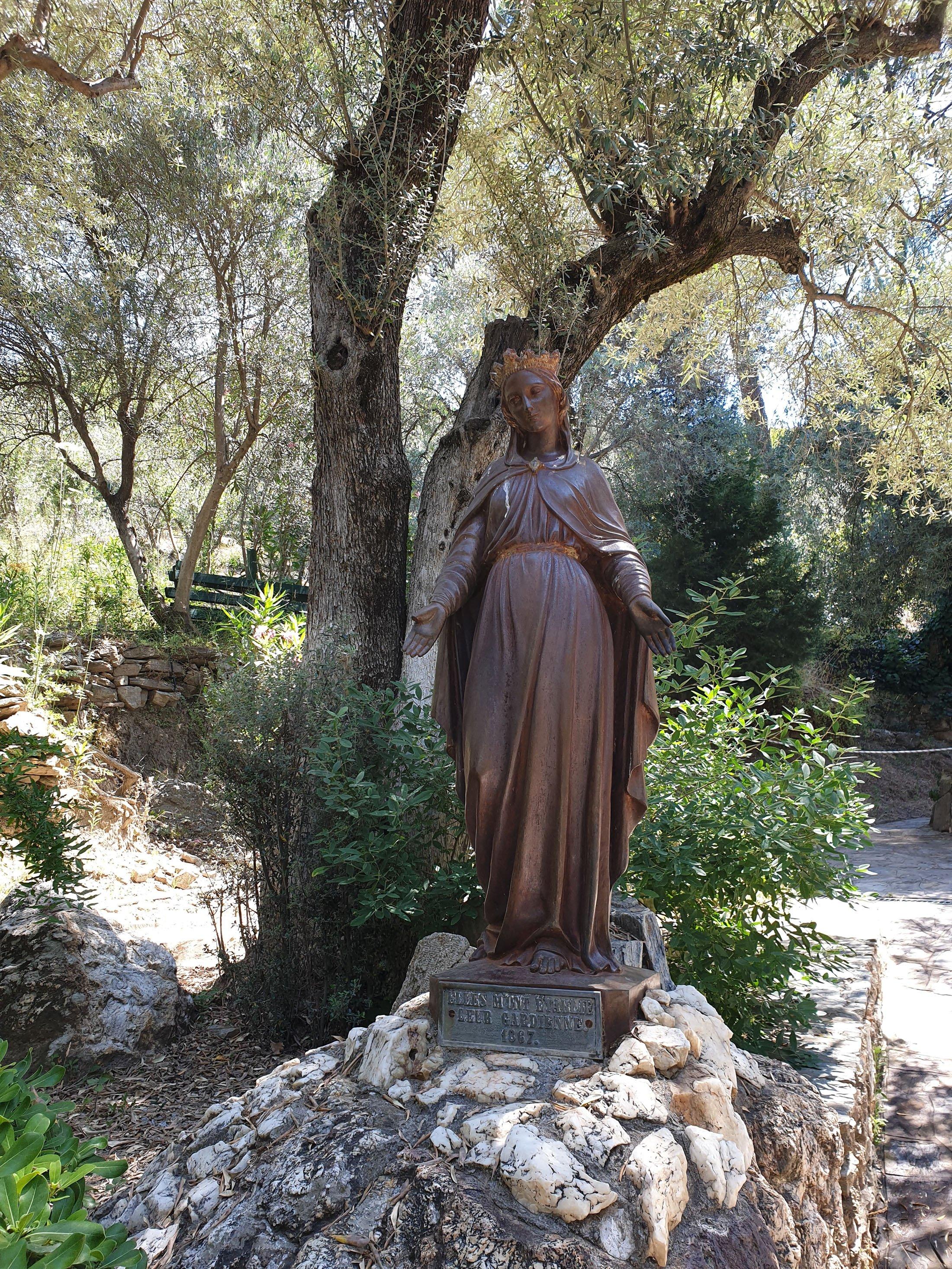 The House of Virgin Mary. (Photo by Argun Konuk)