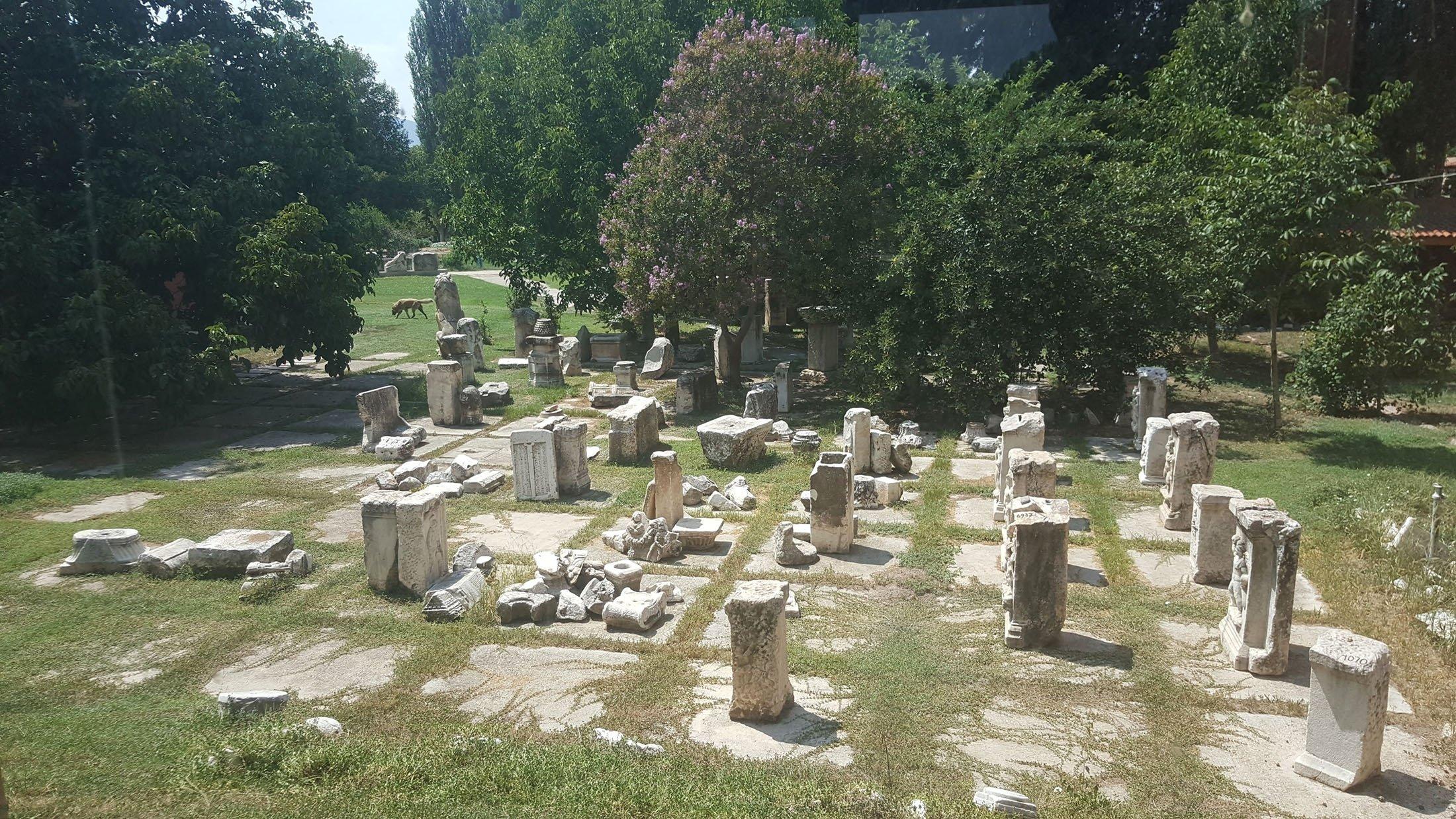The ruins of Aphrodisias. (Photo by Argun Konuk)