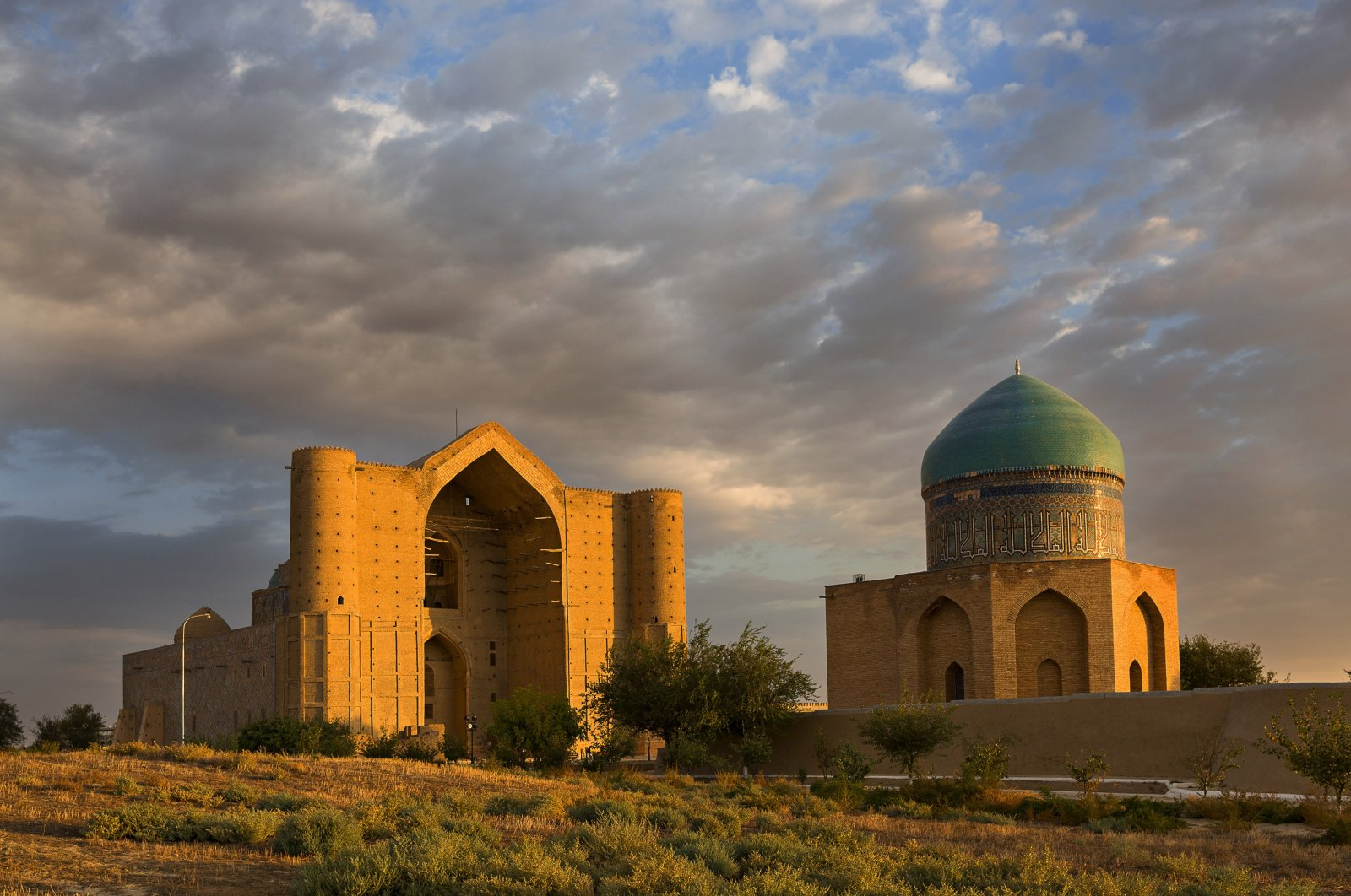 Hoca Ahmed Yesevi Mausoleum is pictured in this undated file photo, Turkistan, Kazakhstan. (Shutterstock Photo)
