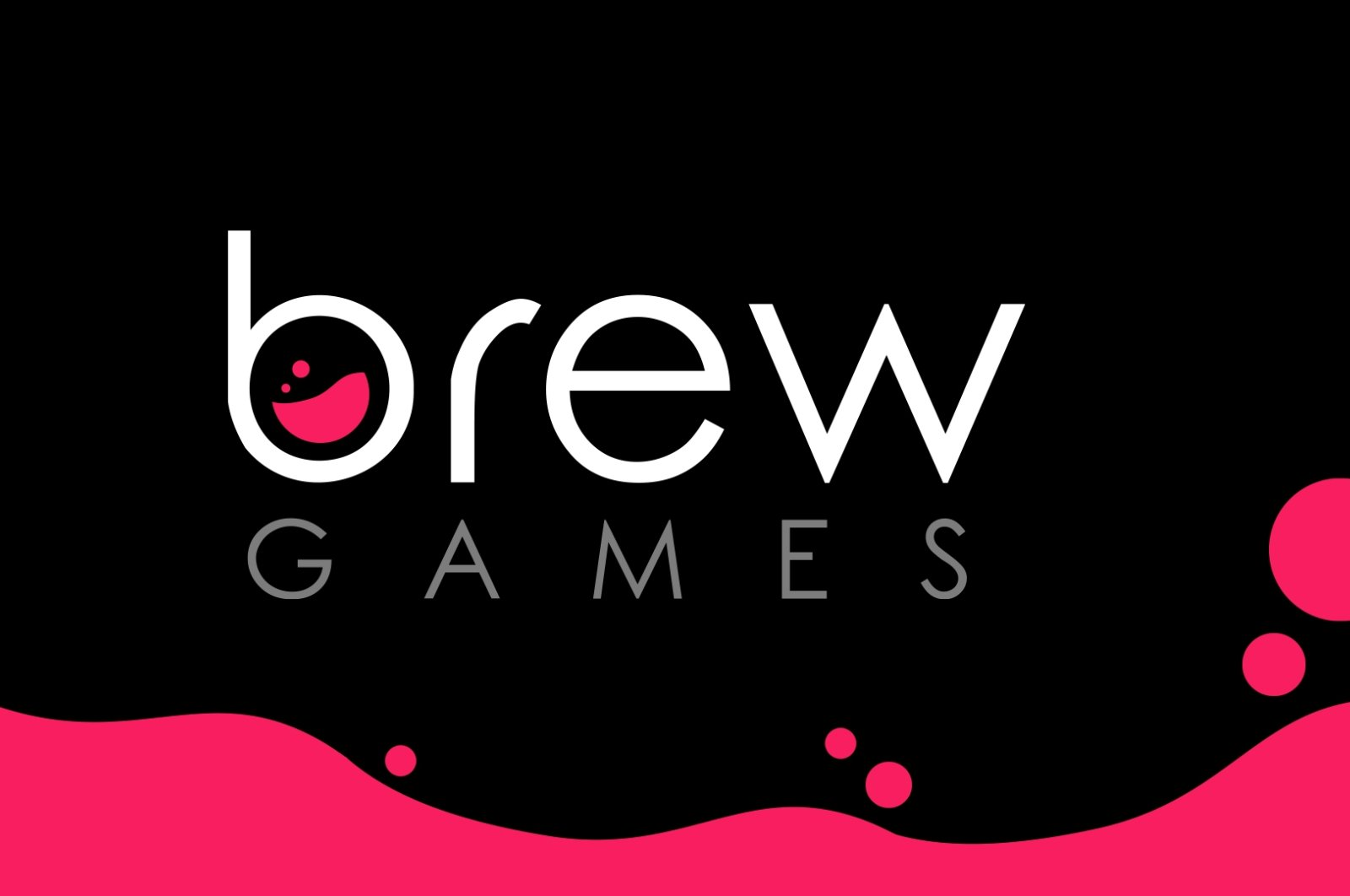 The logo of Turkish gaming company Brew Games. (Courtesy of Brew Games)