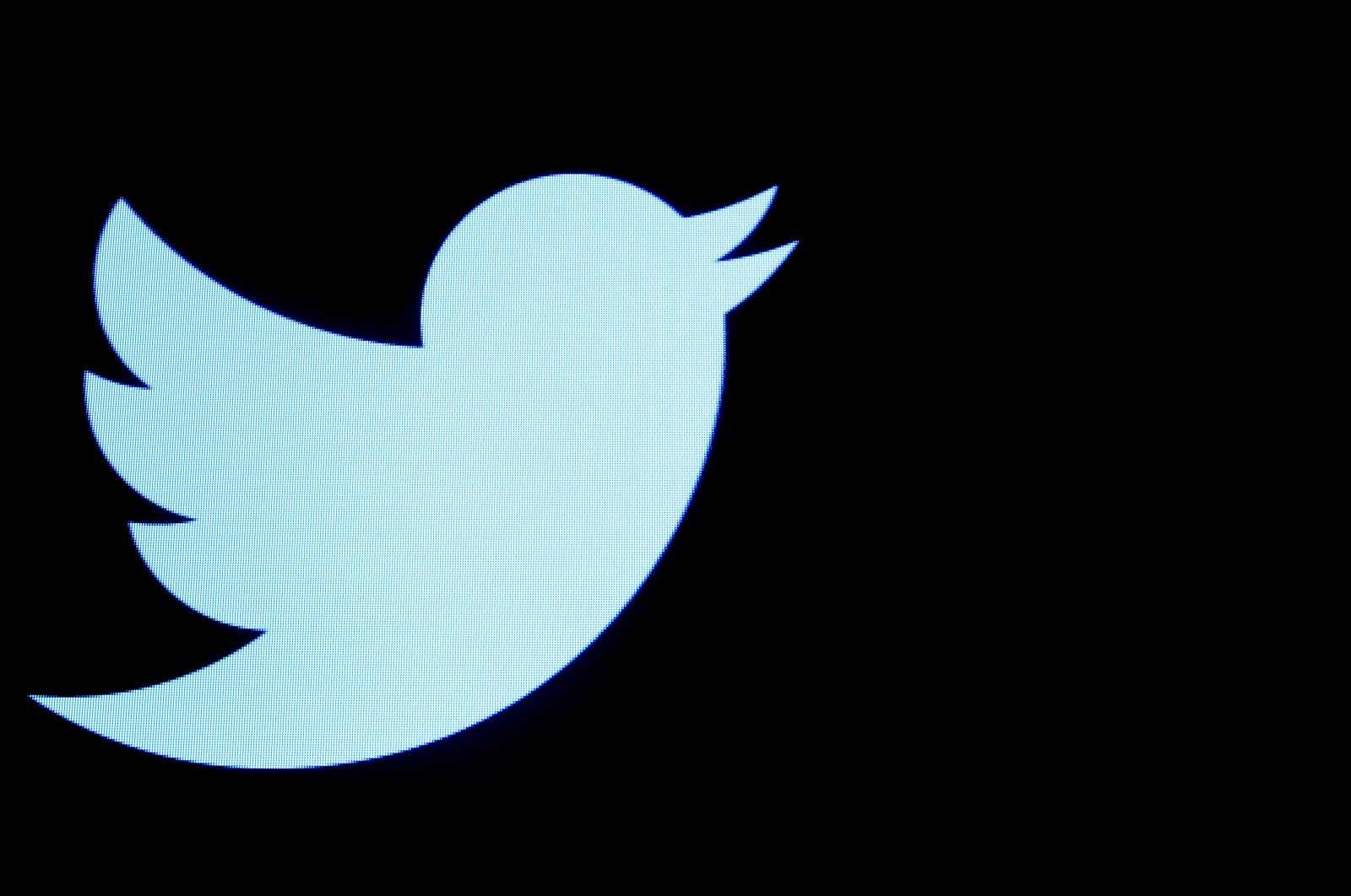 The Twitter logo is displayed on a screen on the floor of the New York Stock Exchange (NYSE) in New York City, New York, U.S., Sept. 28, 2016. (Reuters Photo)
