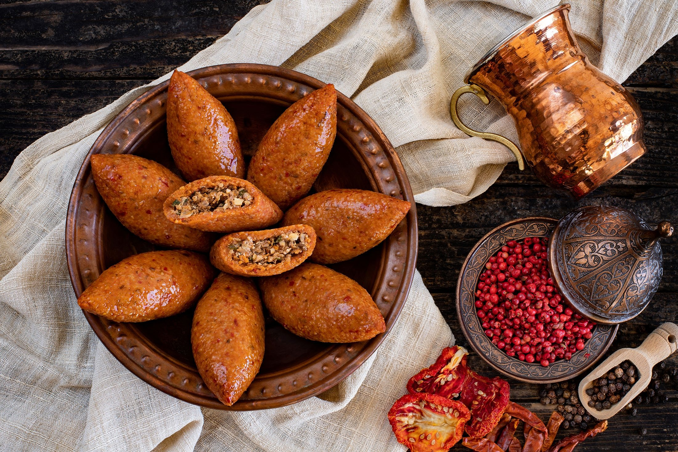 Içli köfte may be tedious to prepare but is a unique treat. (Shutterstock Photo)