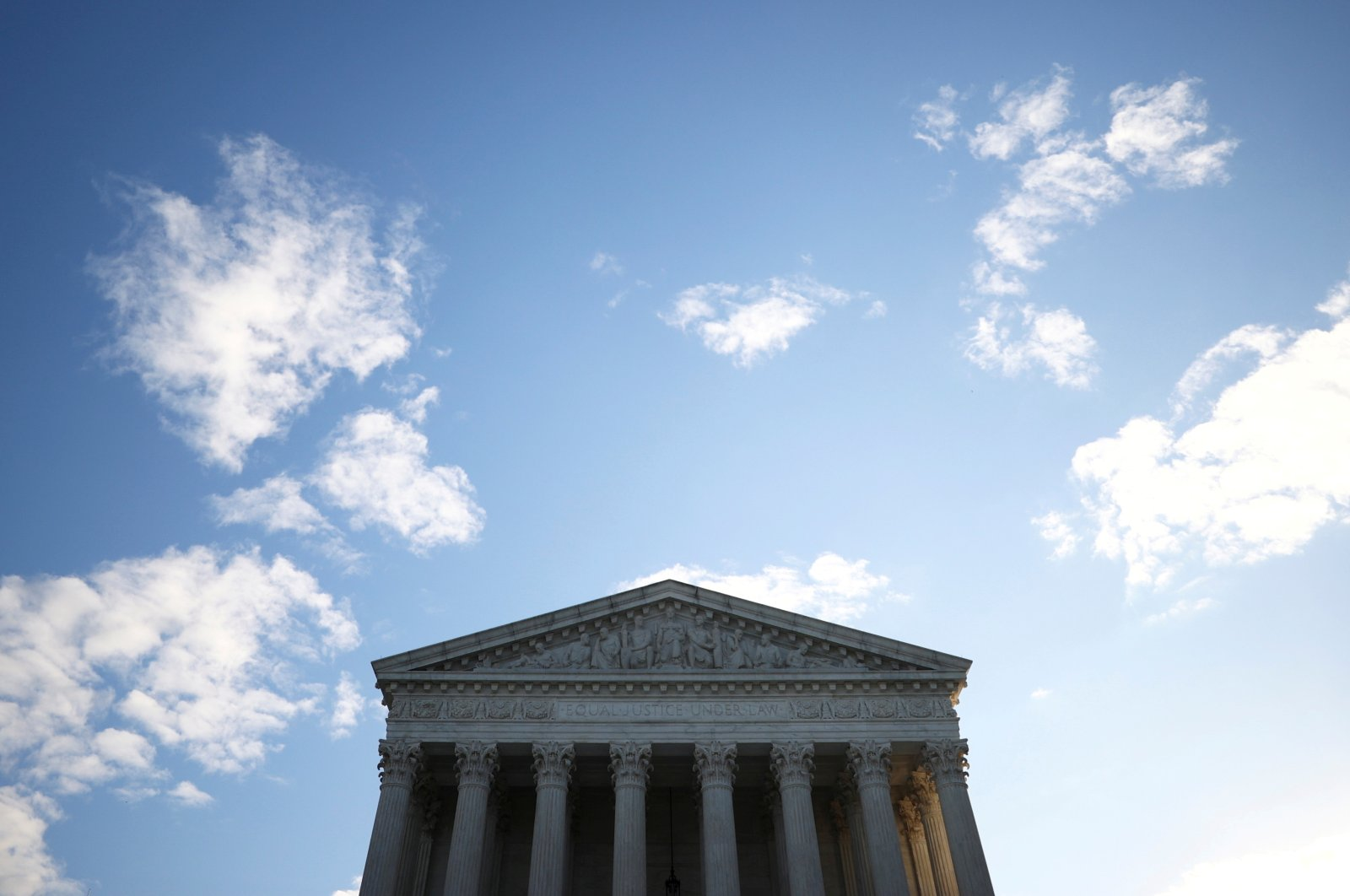 A general view of the U.S. Supreme Court building in Washington, U.S., Nov. 10, 2020. (Reuters Photo)