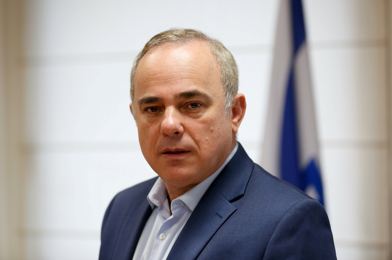 Israeli Energy Minister Yuval Steinitz poses for a photograph during an interview with Reuters, in Jerusalem, Nov. 16, 2016. (Reuters File Photo)