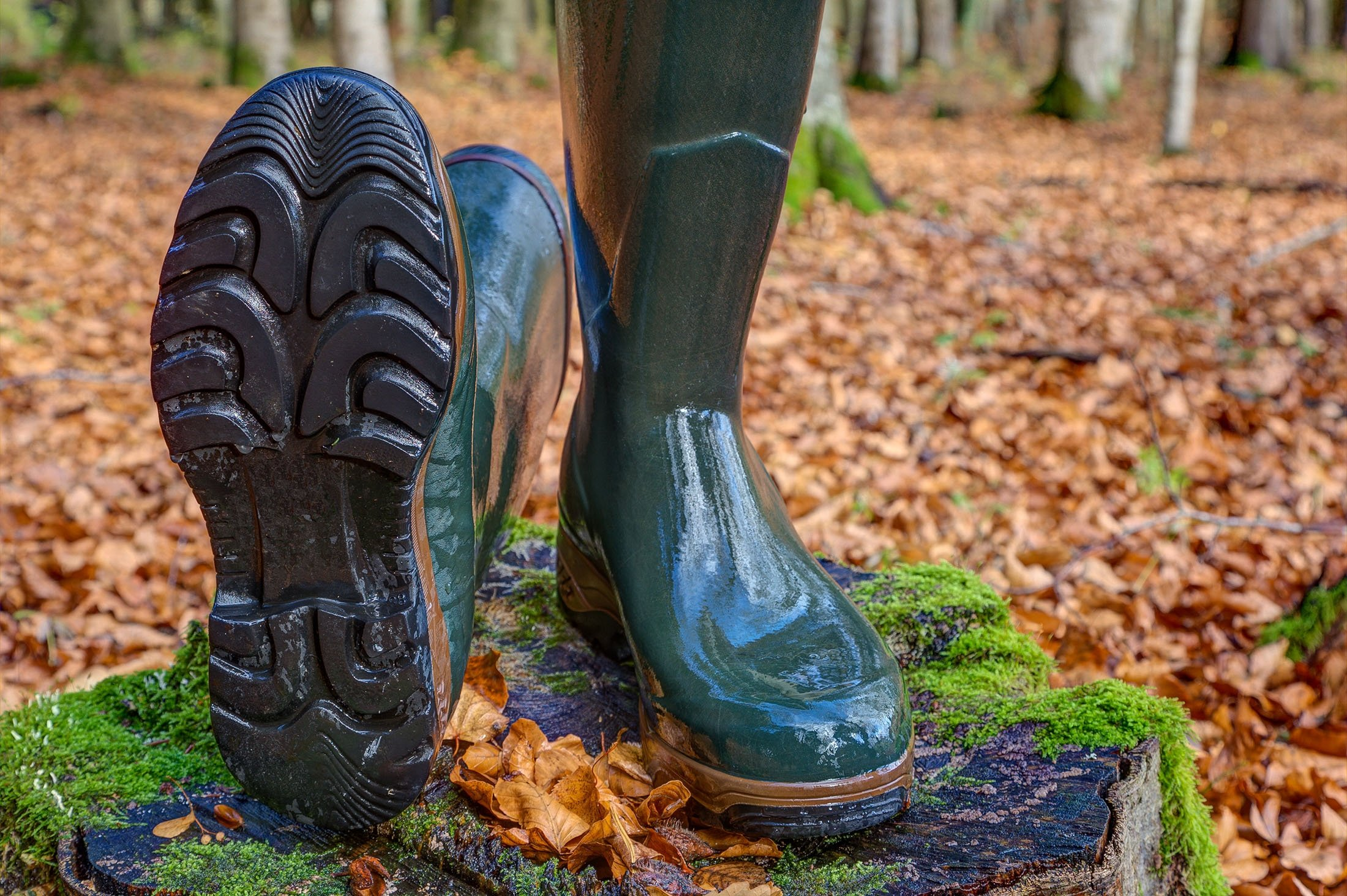 Rubber boots or wellies may be waterproof and robust but if they end up in a landfill, they will need decades to decompose. (Shutterstock Photo)