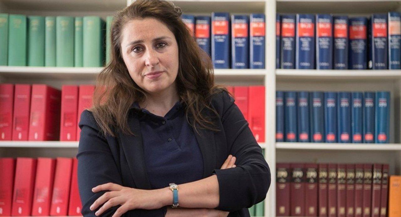 German-Turkish lawyer Seda Başay Yıldız receives death threats from neo-Nazis in Germany, April 7, 2019.