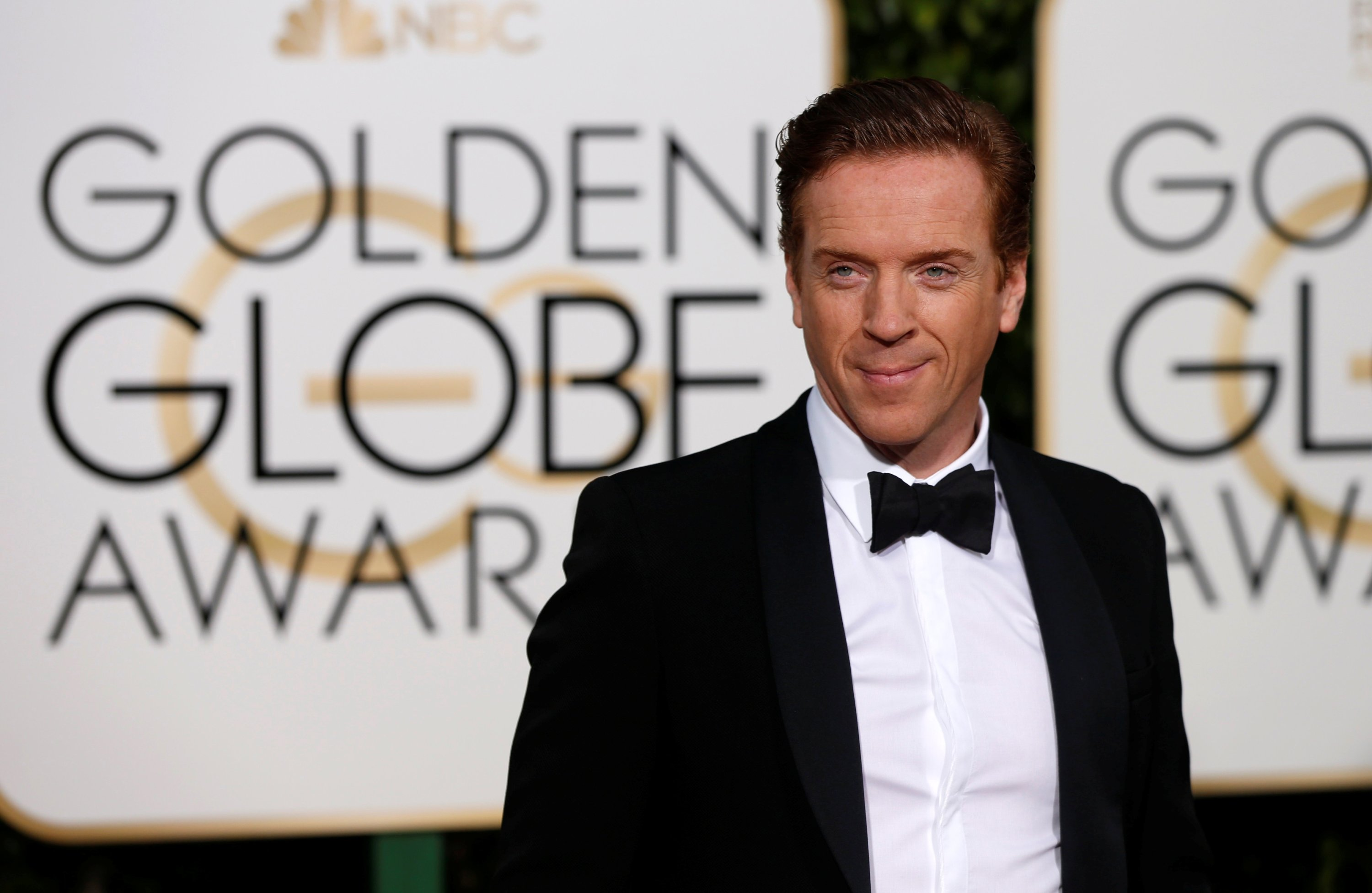 Actor Damian Lewis arrives at the 73rd Golden Globe Awards in Beverly Hills, California, U.S., Jan. 10, 2016. (Reuters Photo)