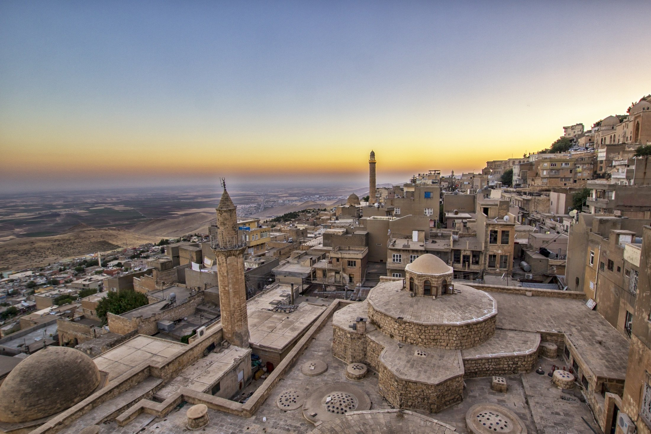 A panaromic view of the city of Mardin, southeastern Turkey. (Shutterstock Photo)