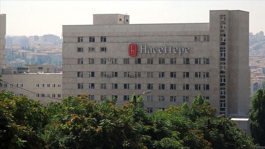 A view of Hacettepe University building, in the capital Ankara, Turkey, Dec. 15, 2019. (AA PHOTO)