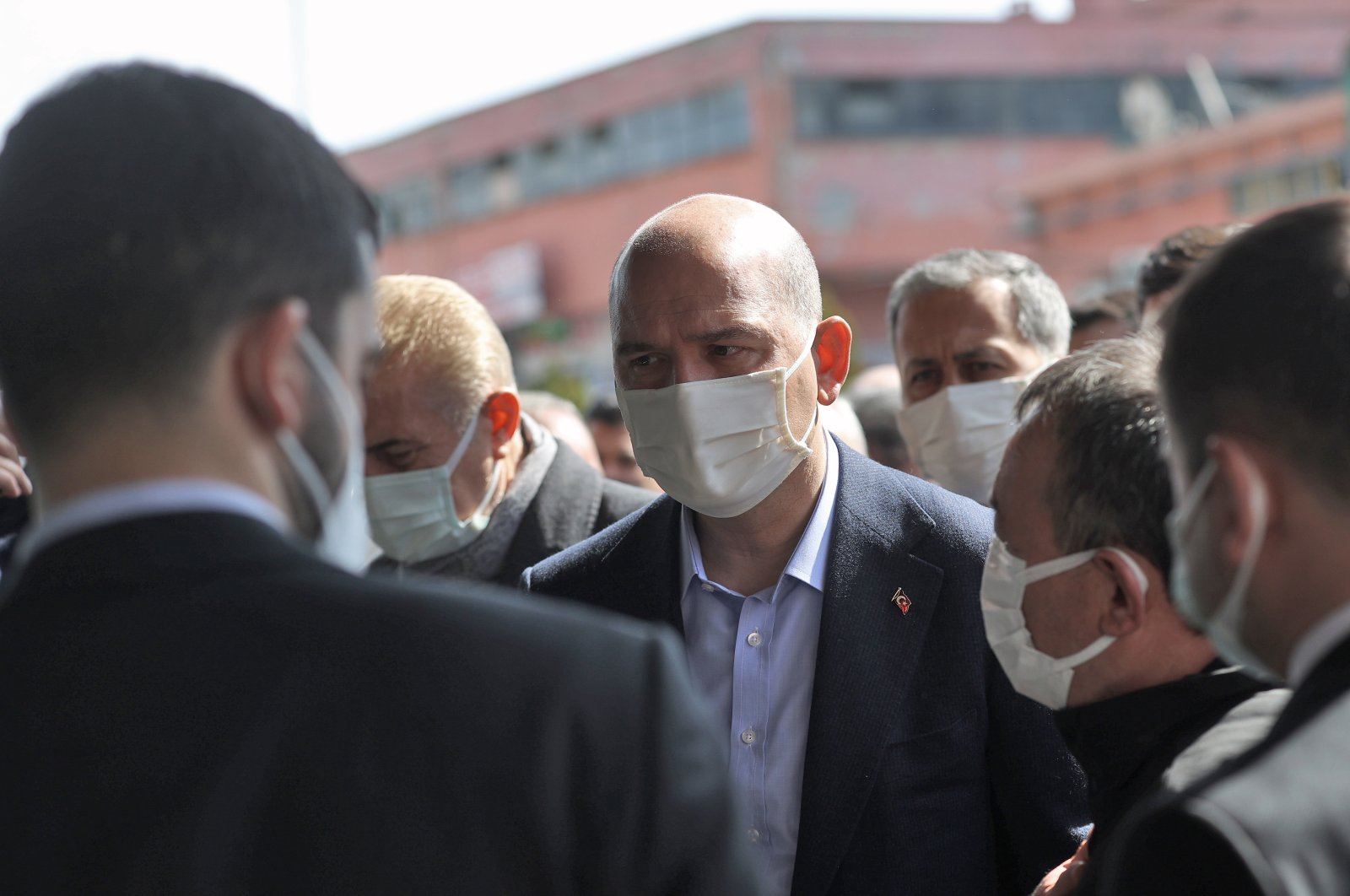 Interior Minister Süleyman Soylu. (AA Photo)