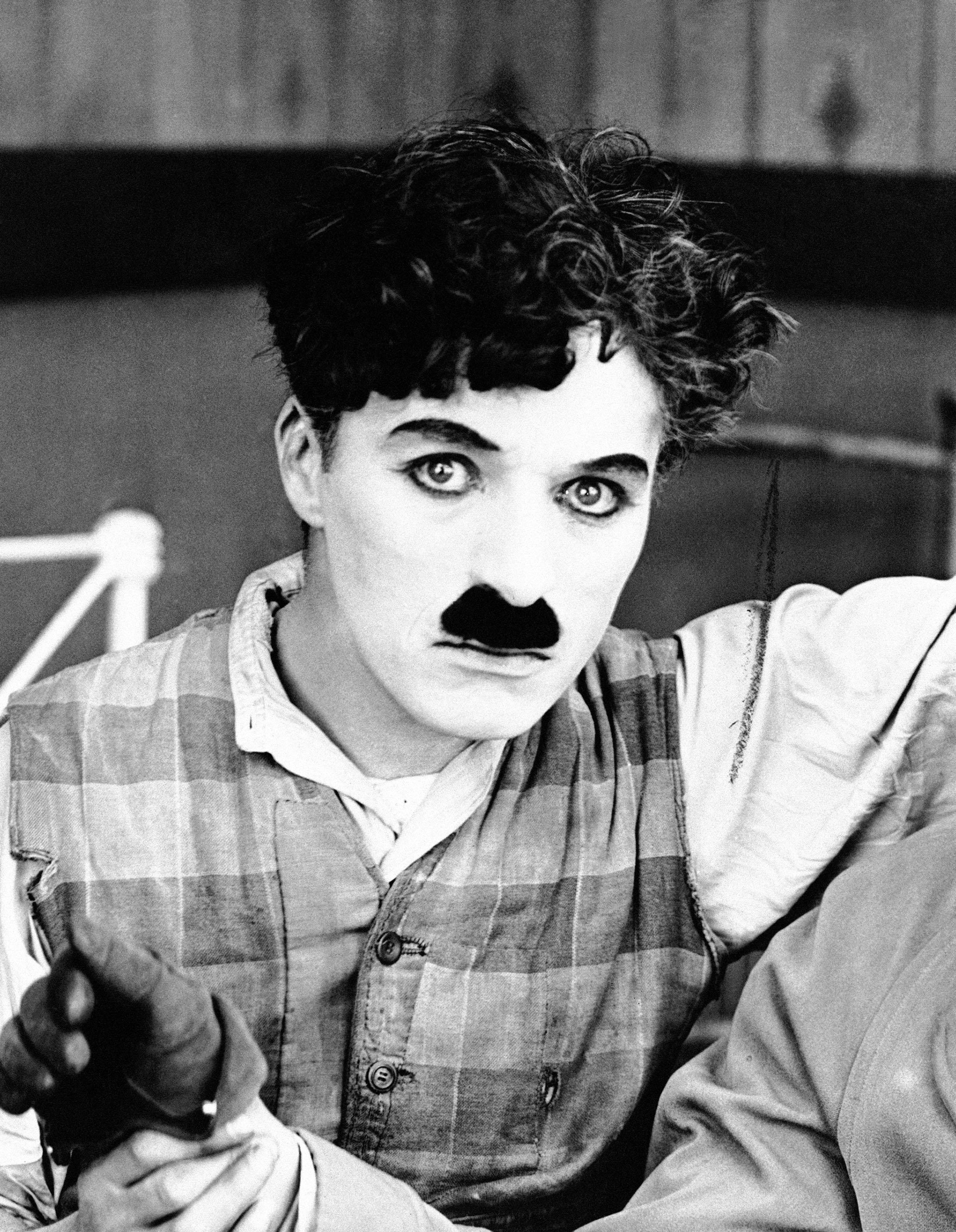 Charlie Chaplin in an undated photo. (AP Photo)