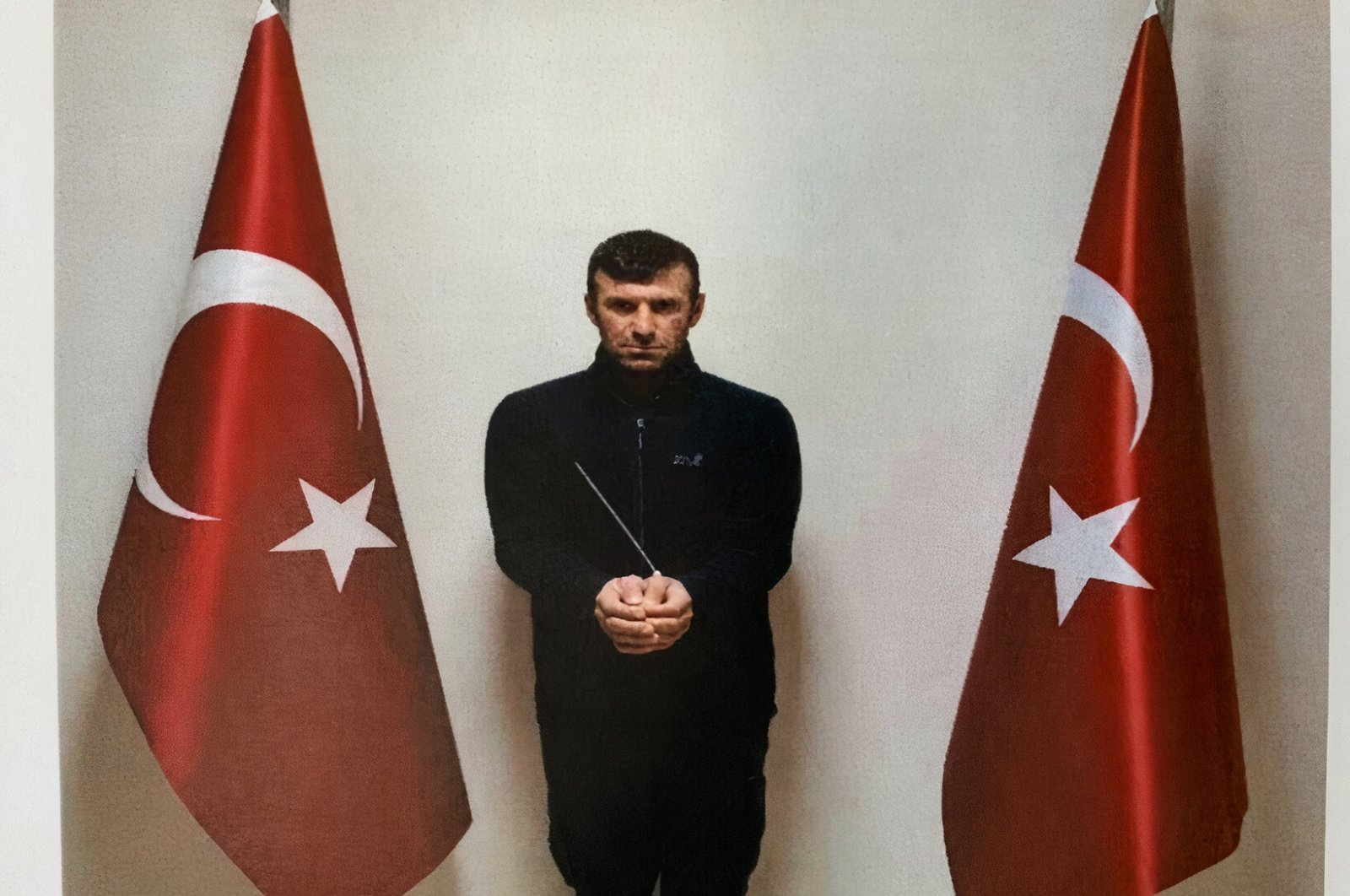 Ibrahim Babat, codenamed Şeh Guyi, who was captured in an operation carried out against the Syrian branch of the PKK terror group, the YPG, March 15, 2021. (AA Photo)