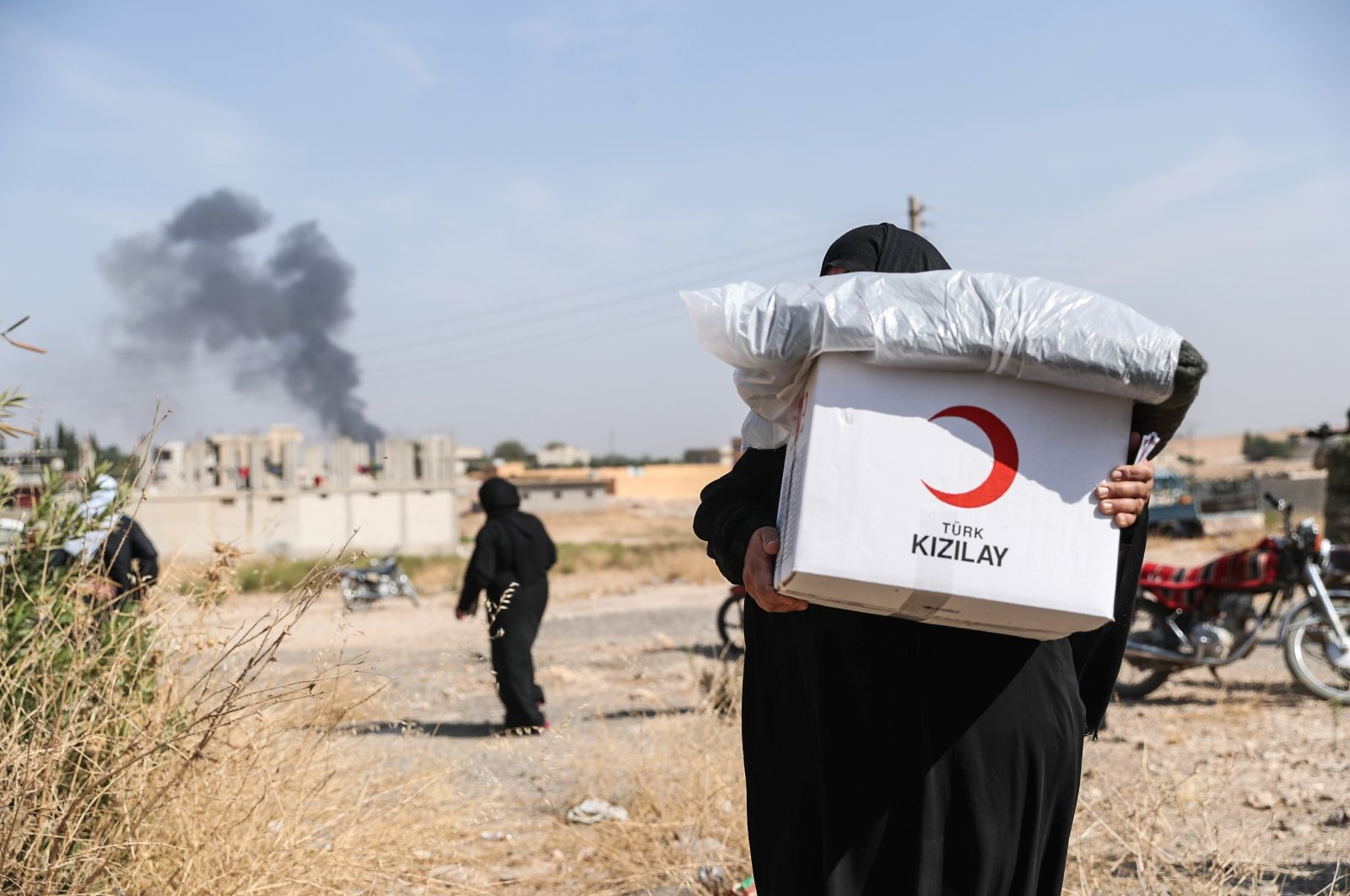 The Turkish Red Crescent (Kızılay) has been providing aid to Syrians for 10 years, March 14, 2021 (AA Photo)