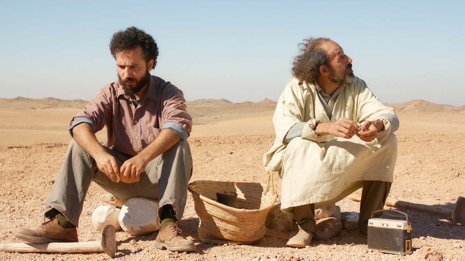 """A still shot from """"The Unknown Saint"""" directed by Alaa Eddine Aljem."""
