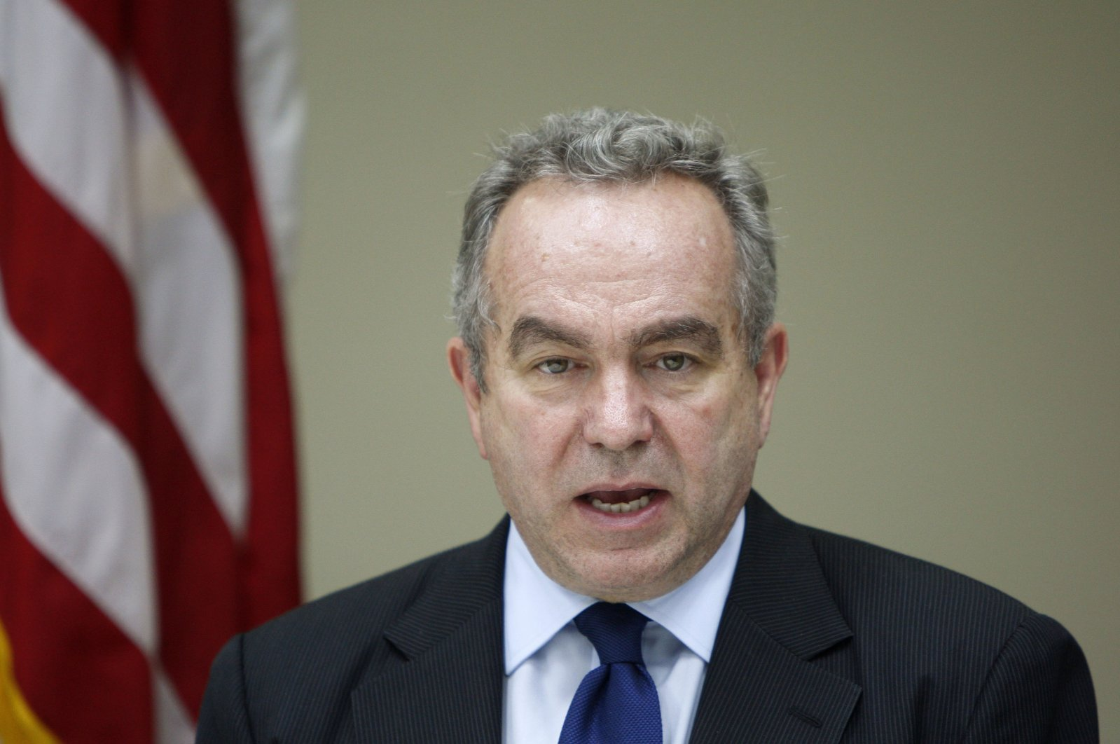 U.S. Assistant Secretary of State for East Asian and Pacific Affairs Kurt Campbell speaks during a press conference at the U.S. Embassy in Kuala Lumpur, Malaysia, Dec. 13, 2012. (AP Photo)