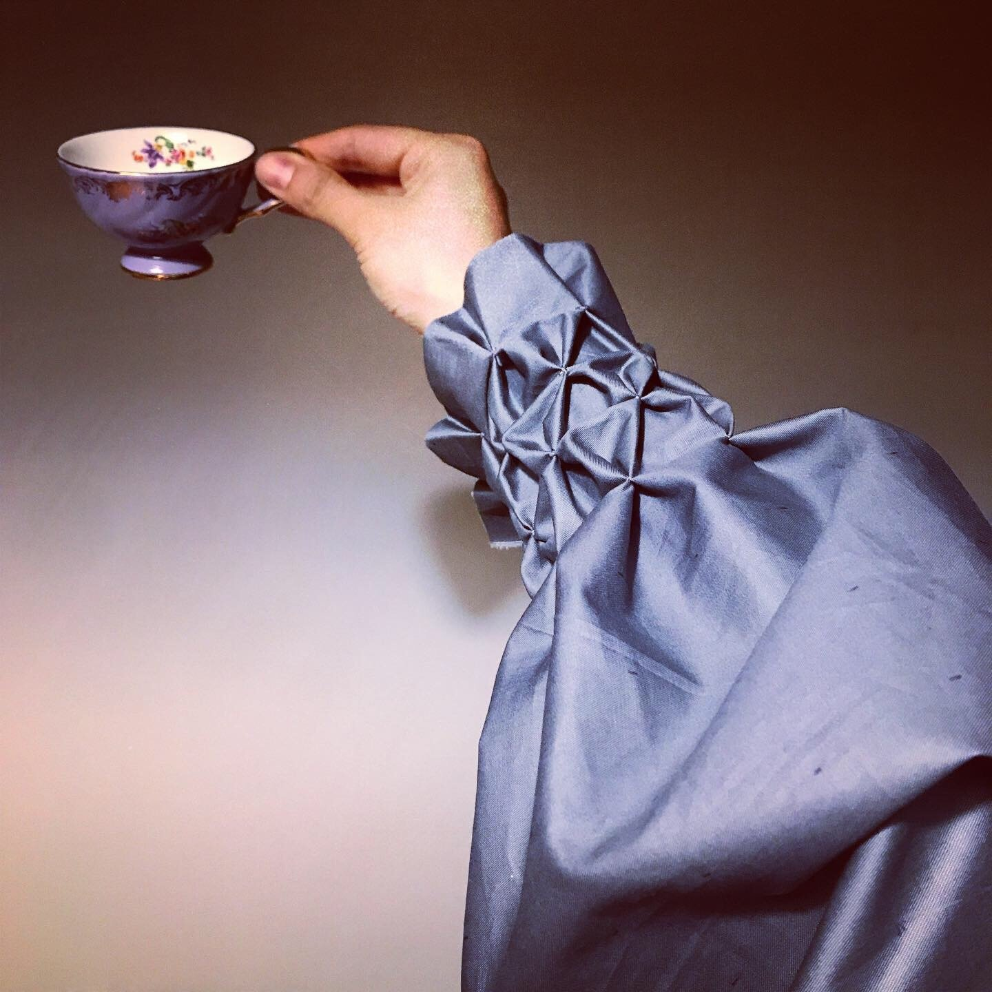 Rabia Gül was inspired by 19th-century silhouettes when she created this shirt. (Photo courtesy of Rabia Gül)