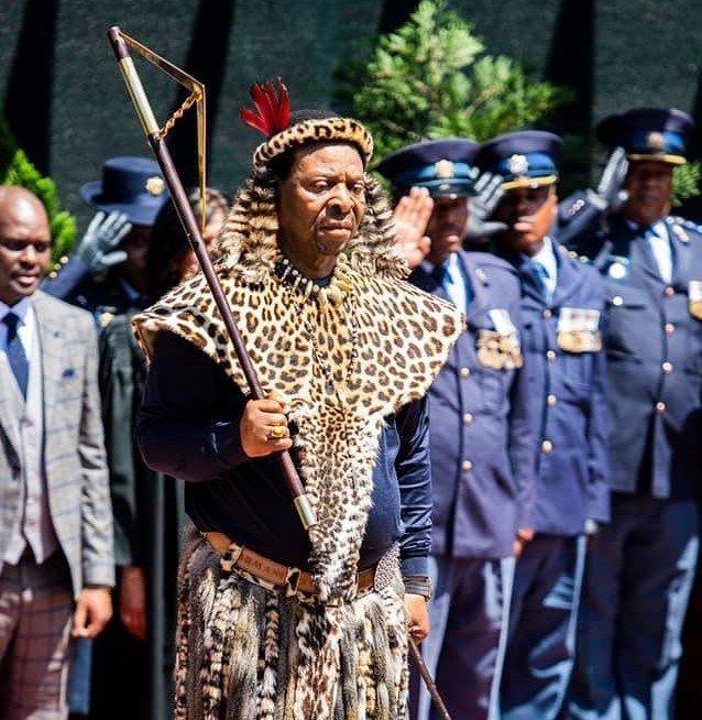 Zulu King Goodwill Zwelithini (DHA)