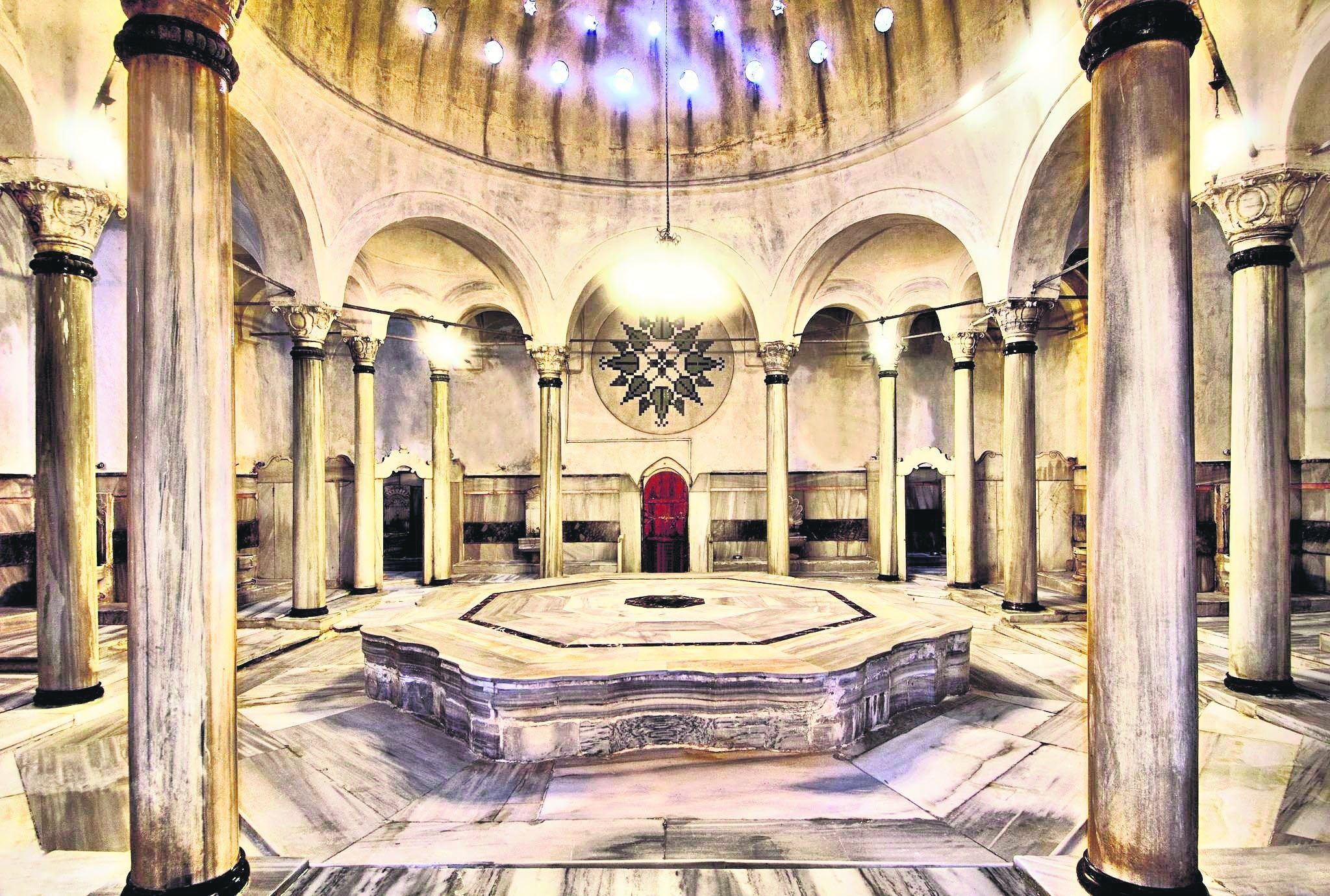 A view from the Çemberlitaş Hamam in Istanbul. (Archive Photo)