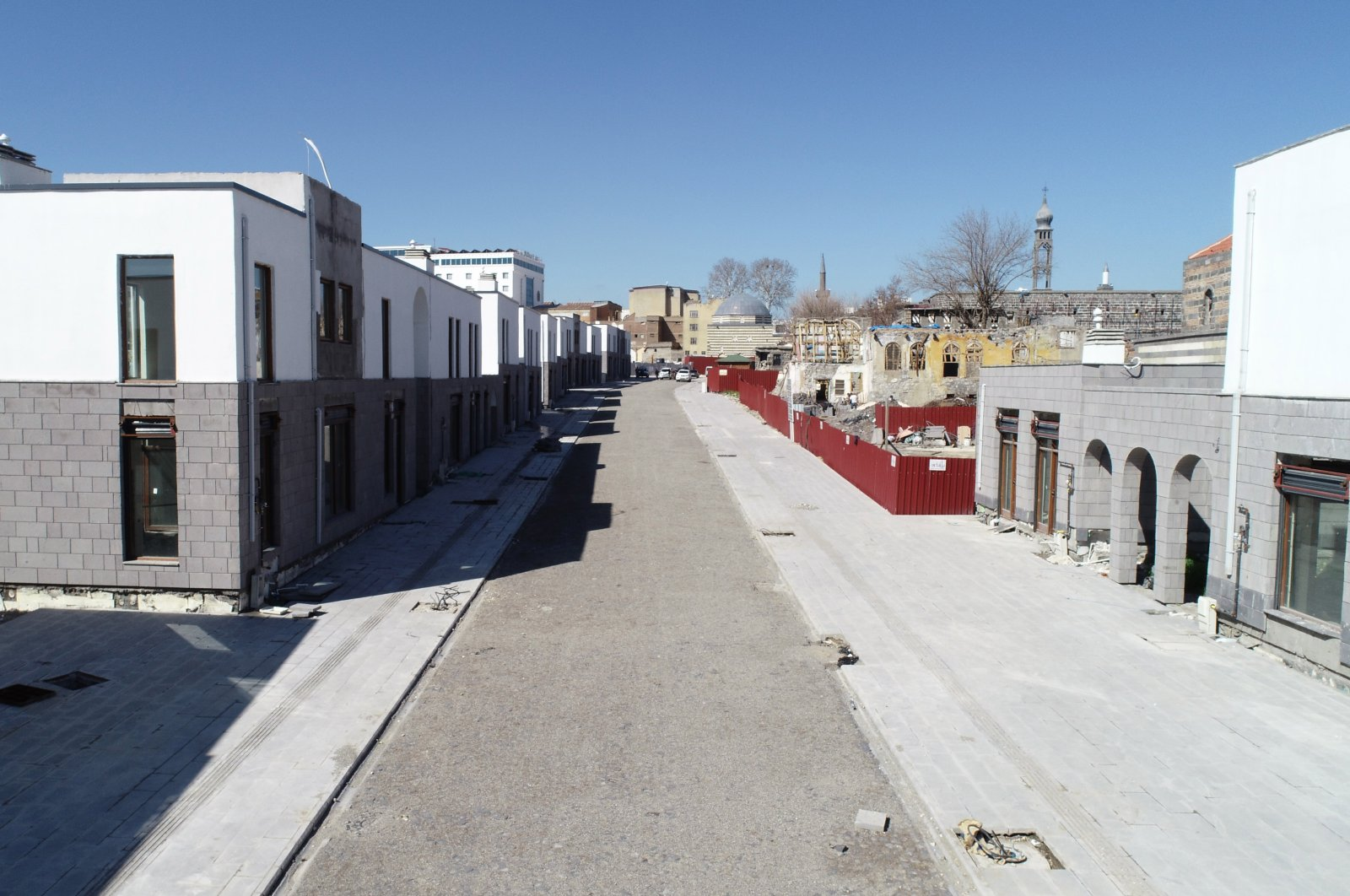 Diyarbakır's Sur district continues to be reconstructed after the elimination of PKK terrorism, Turkey, March 18, 2021. (DHA)