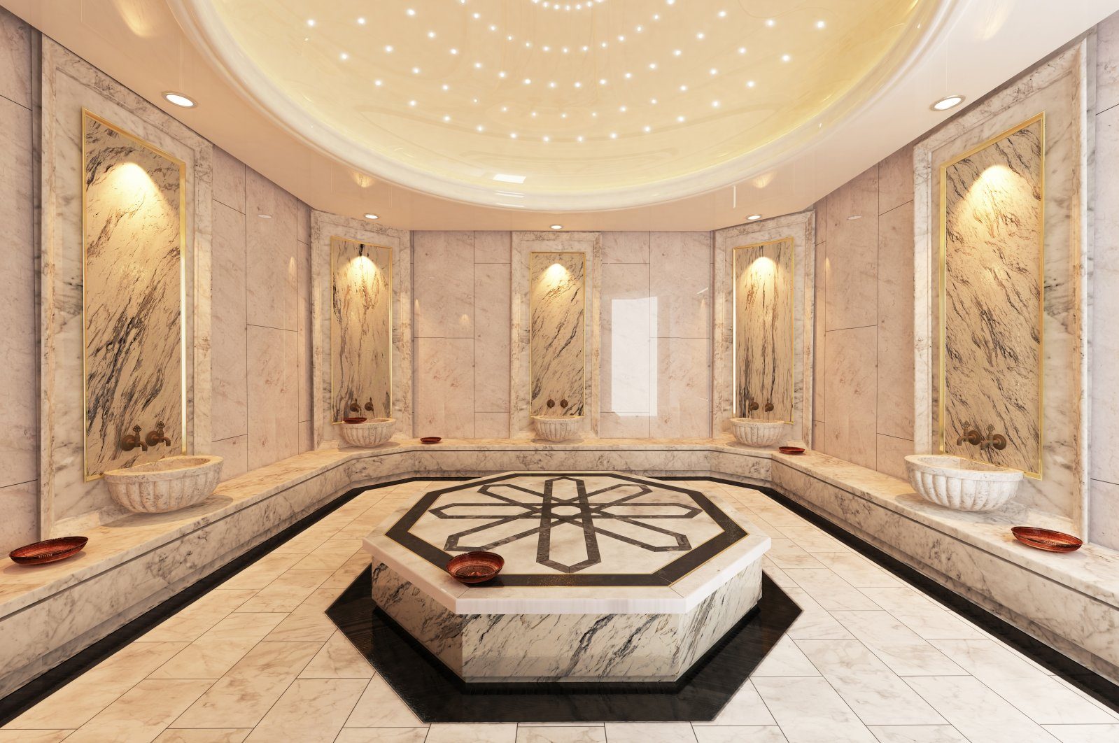 Turkish hammams are centers for people to socialize in addition to being places where people took baths. (Shutterstock Photo)