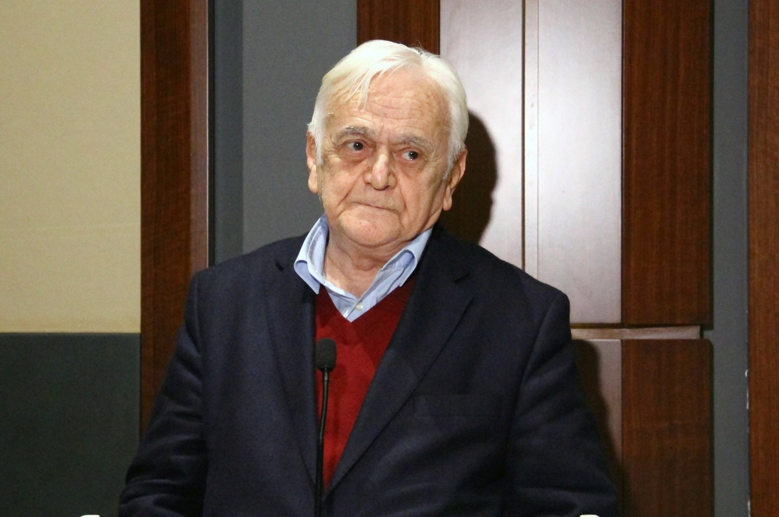 Historian Dr. Mehmet Genç is seen in this undated file photo reissued on Mar. 18, 2021 (AA Photo)