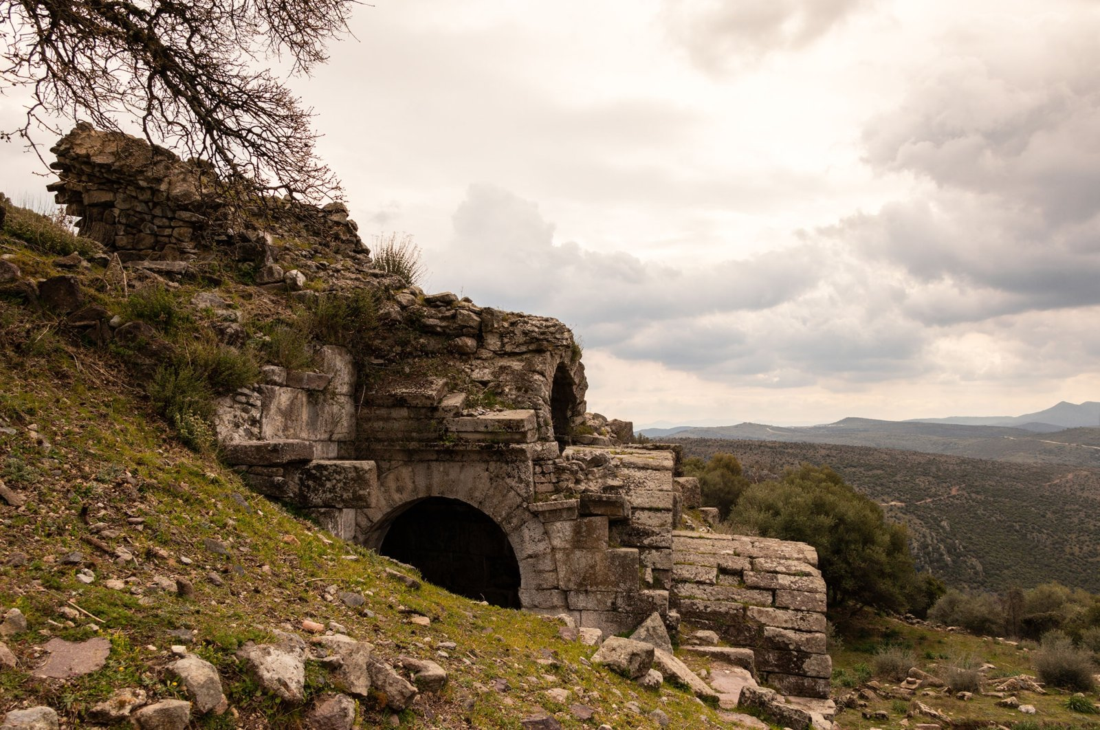The Aegean region is thought to have been named after the ancient city of Aigai. (Shutterstock Photo)