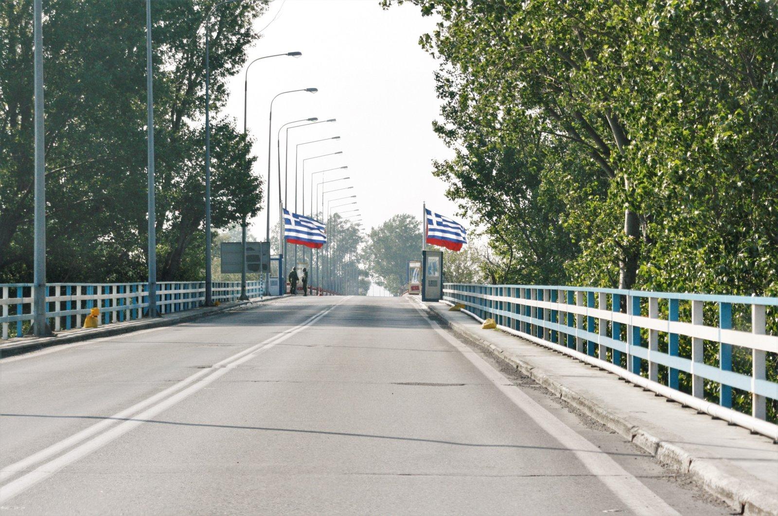 The Greek side of the Turkey-Greece border is seen in this photo taken in northwestern Edirne province, Turkey. (Shutterstock Photo)