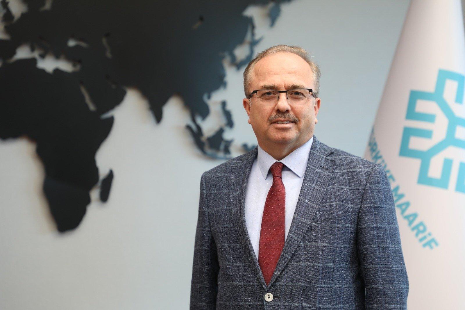 Maarif Foundation Chairperson Birol Akgün, June 19, 2020. (AA Photo)