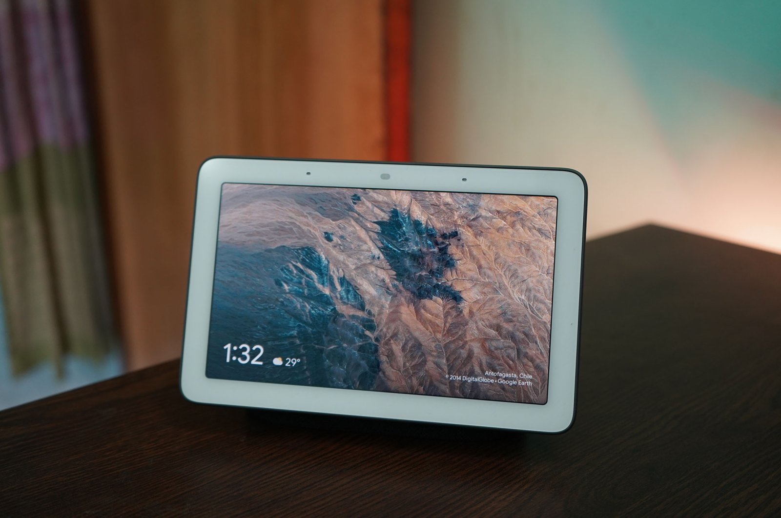 The Google Nest Hub is a Google Assistant smart device that can track your sleep. (Shutterstock Photo)