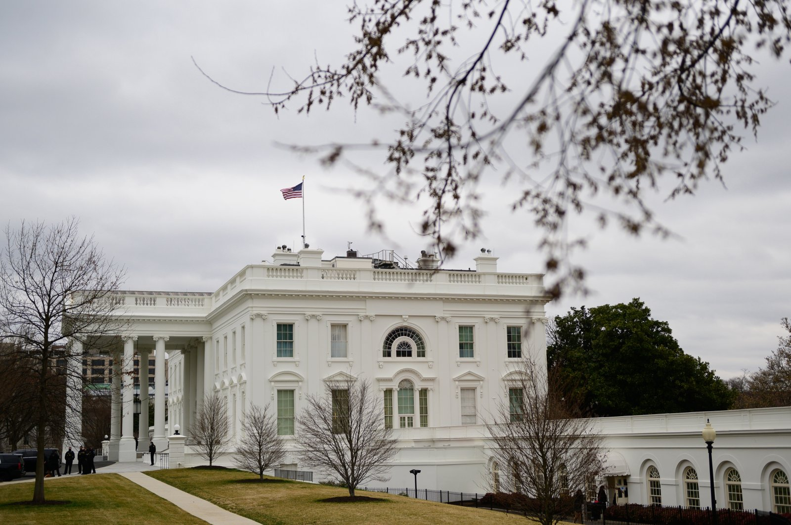 A general view of the White House in Washington, D.C., U.S., March 16, 2021. (Photo by Getty Images)
