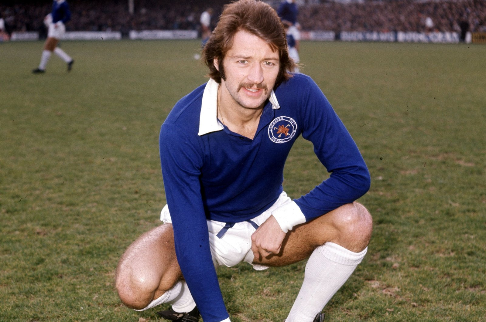 Former England and Leicester City striker Frank Worthington. (Reuters Photo)